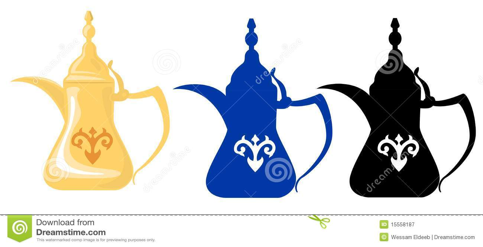 Arabische Theepotten & Silhouetten 2