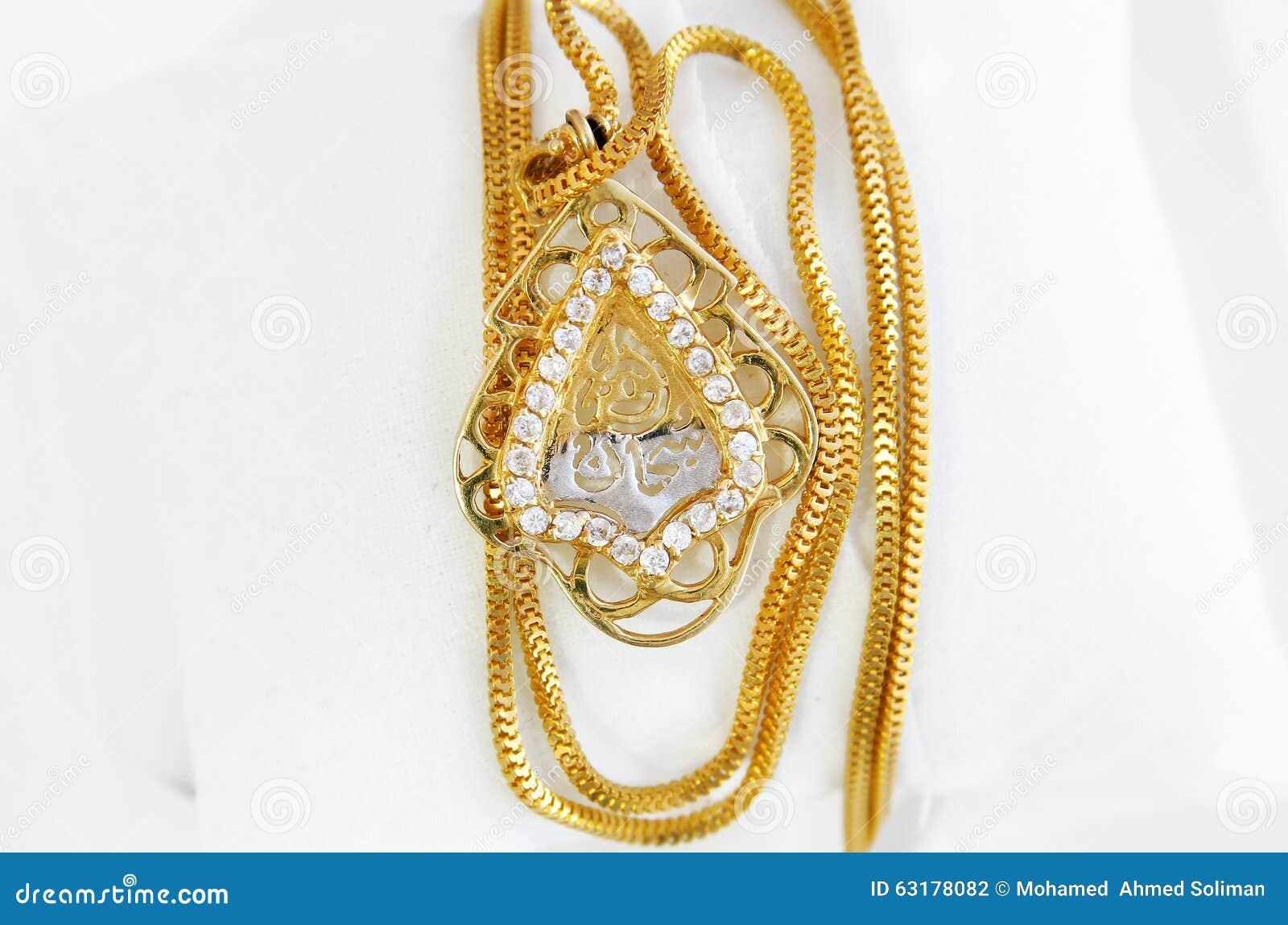 Arabischer goldschmuck bild