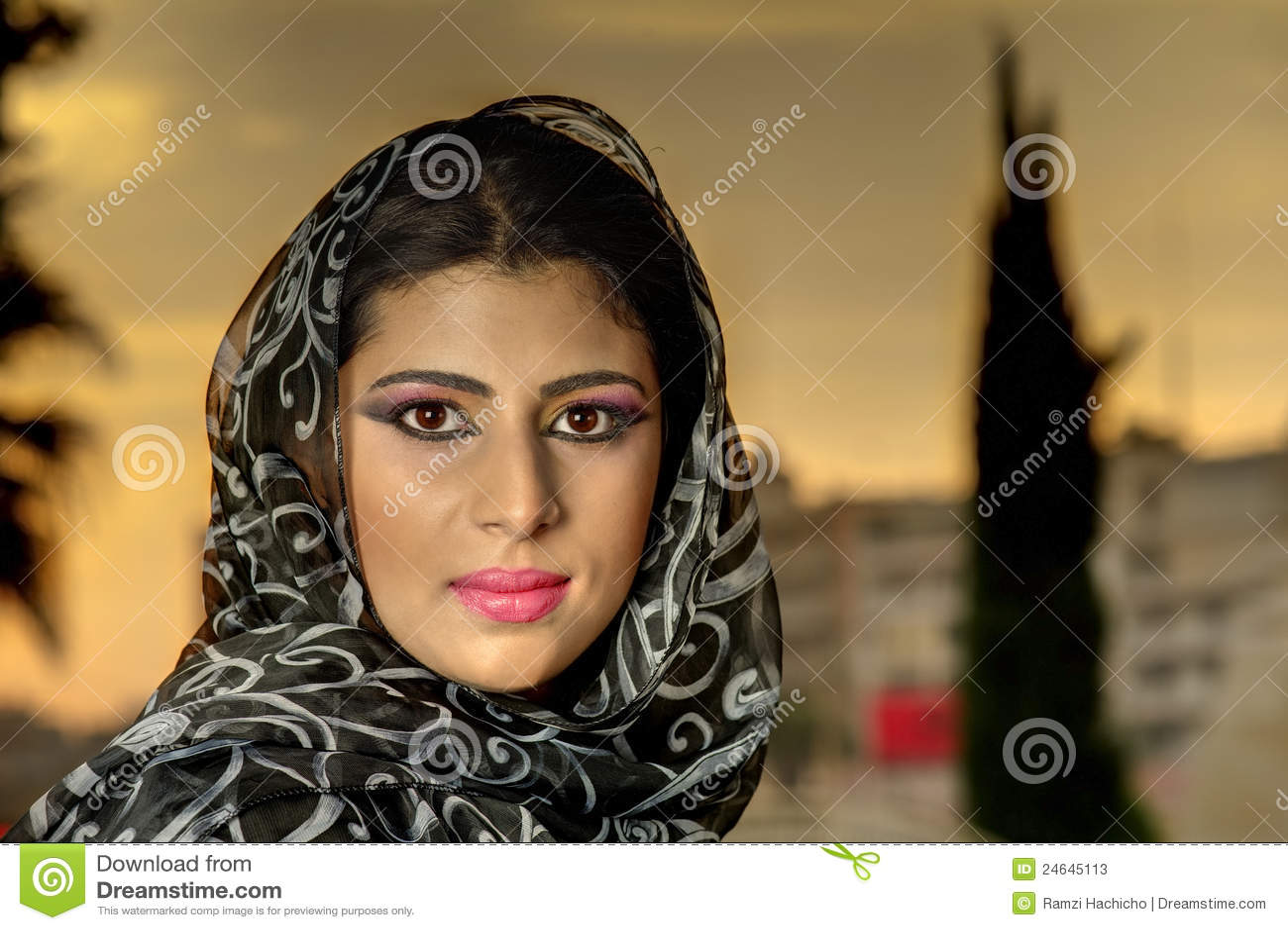 arabisches mädchen aus binningen