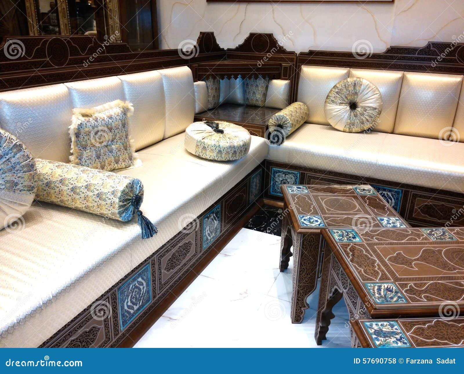 Stockfoto Sofa Bild Zuhause Von Traditionelles Arabisches bH2DYE9eWI