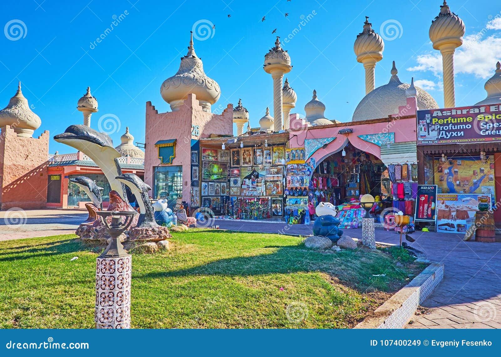 Arabisk colorith i Sharm el Sheikh, Egypten