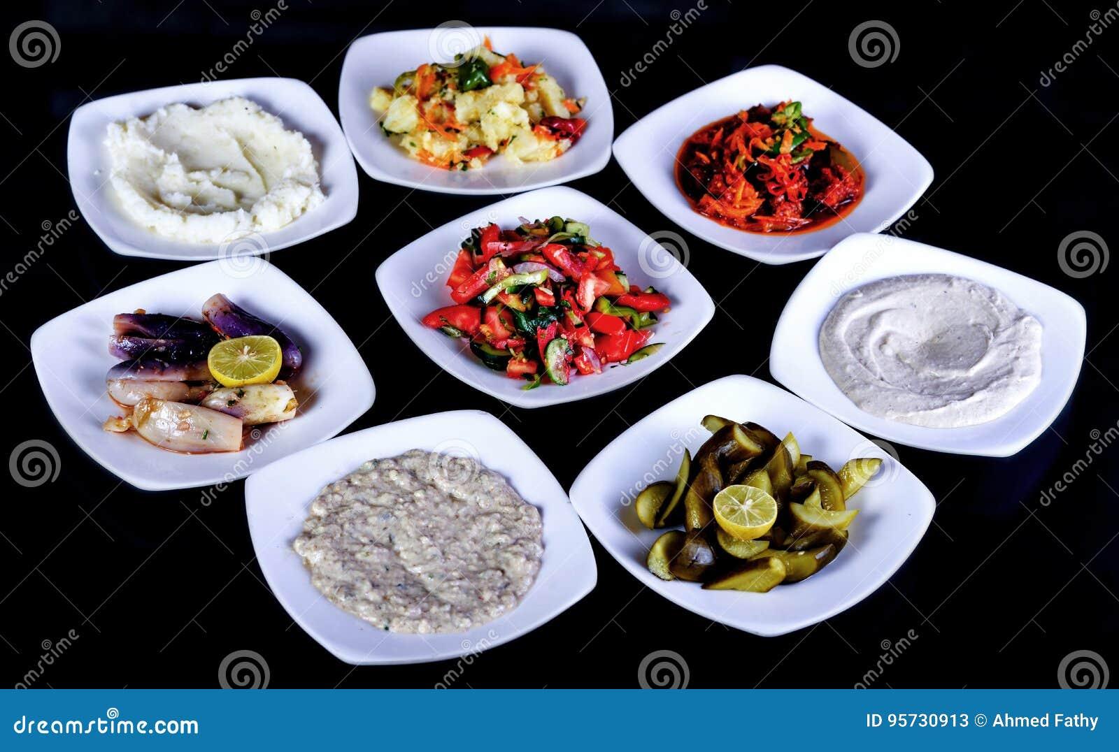 Arabska sałatka - pomidorowa sałatka