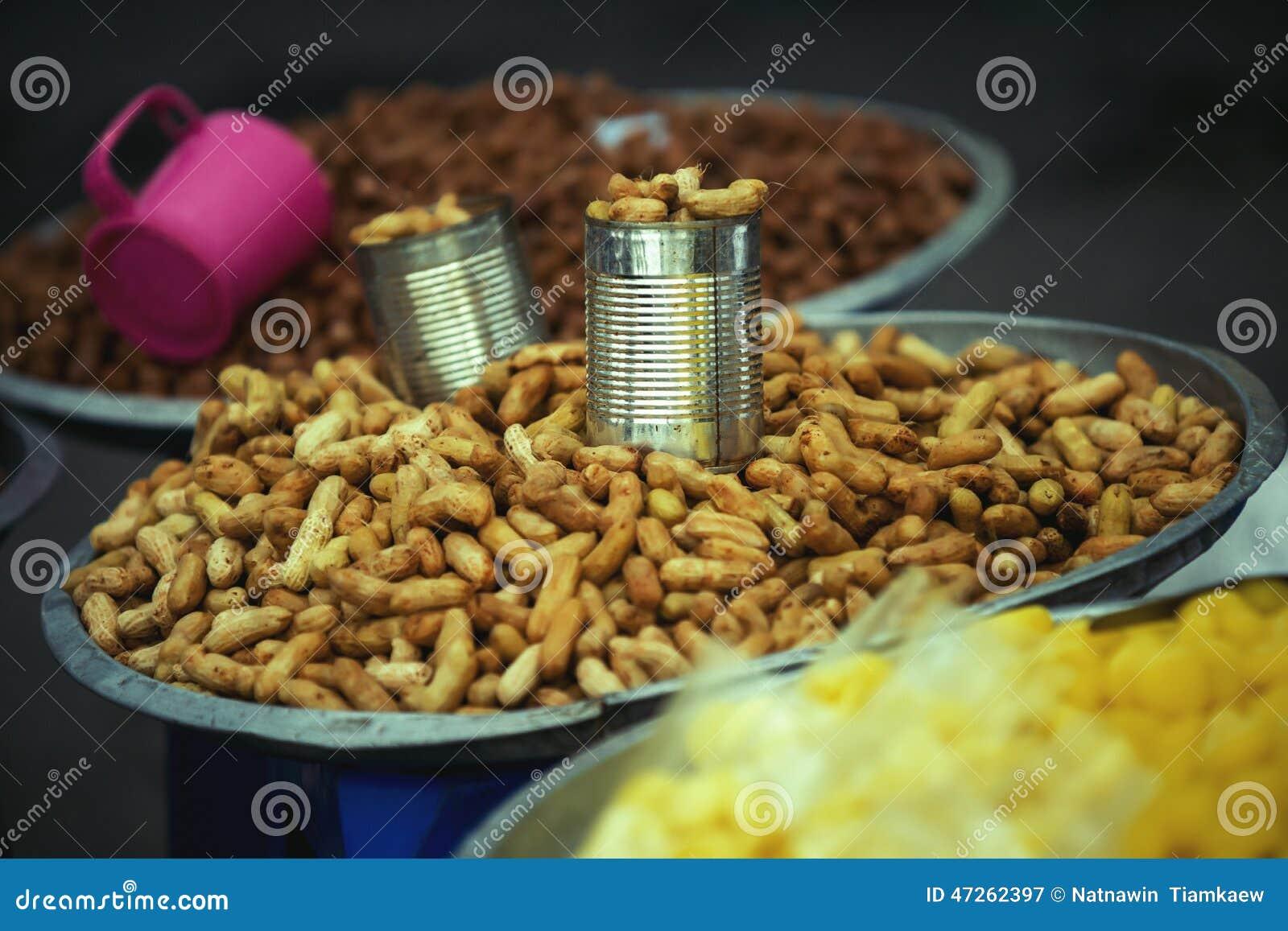 Arachides bouillies