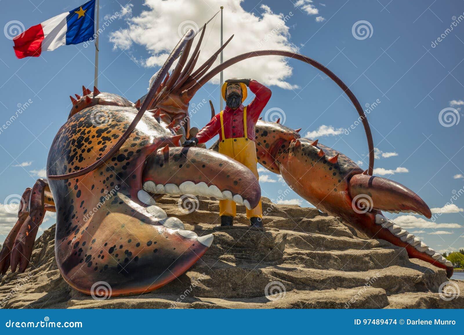 Aragosta del ` s del mondo più grande - Shediac