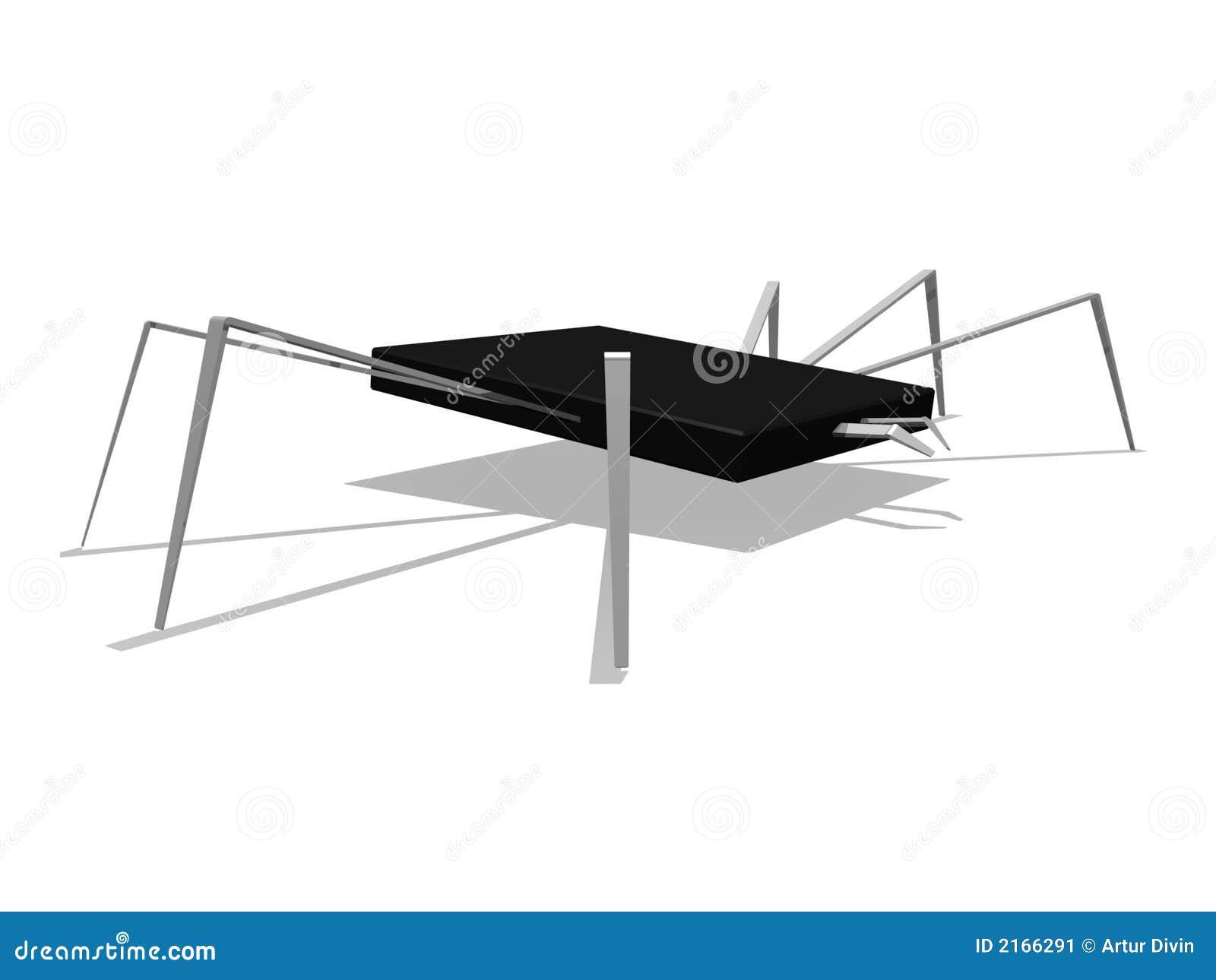 Araignée d aka de puce