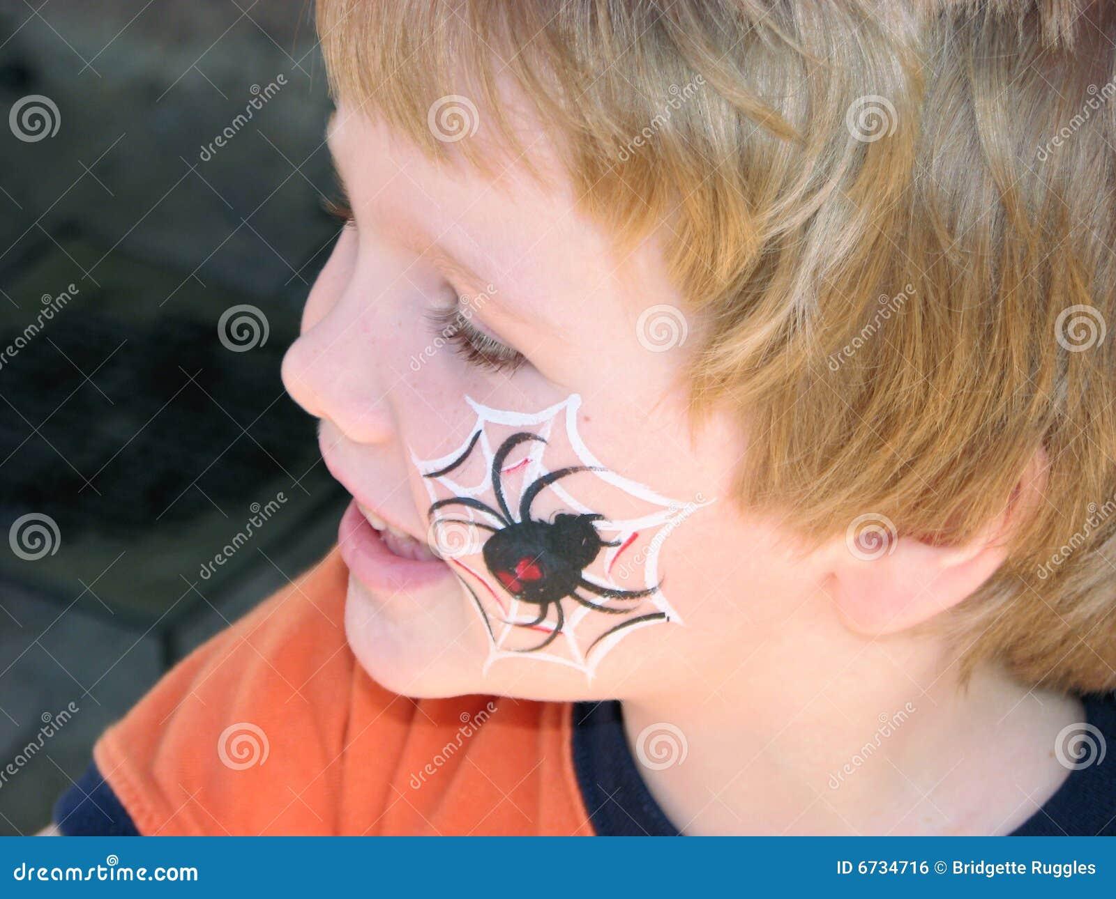Araignée Visage-peinte