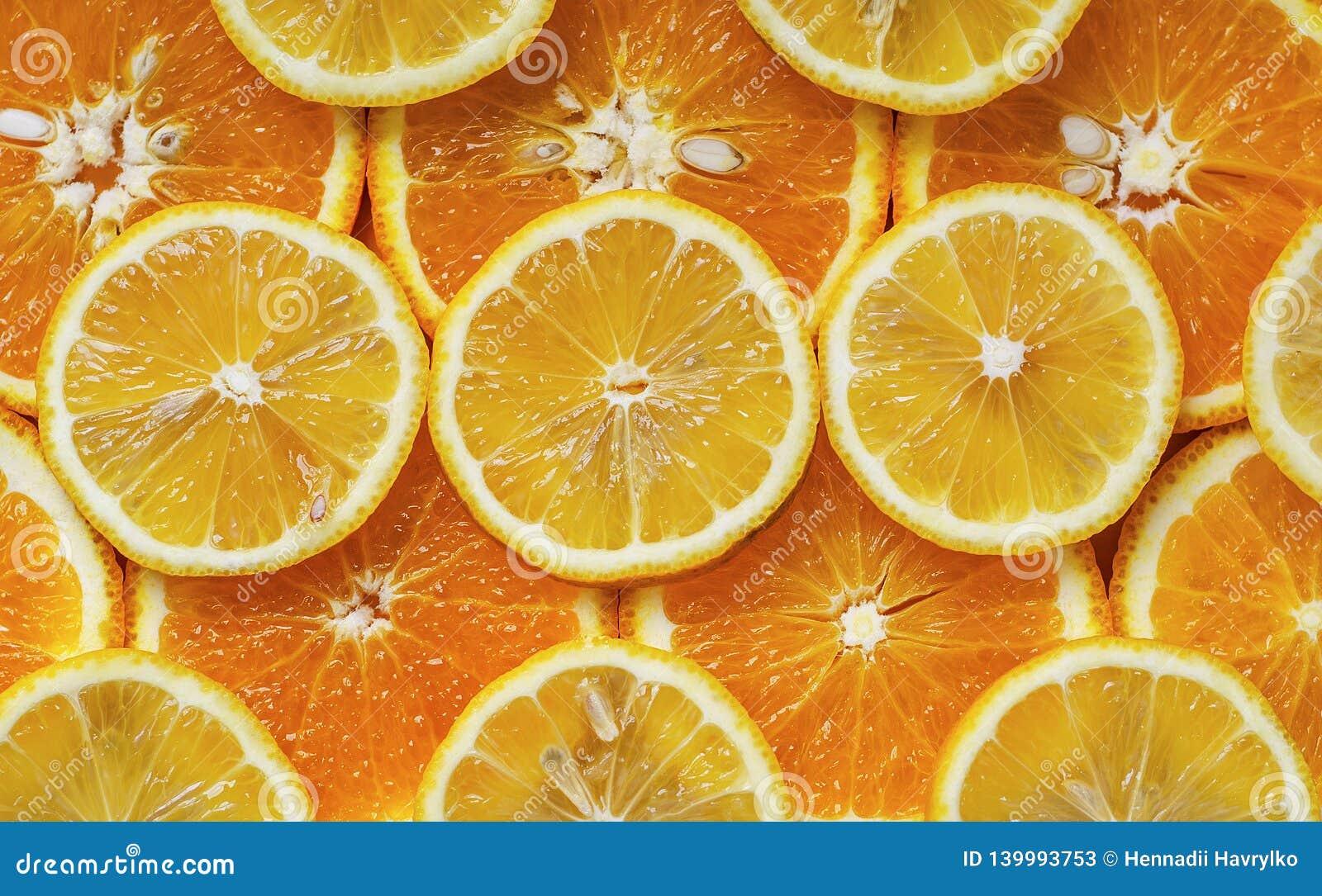 Arancia e circles2 inciso limone