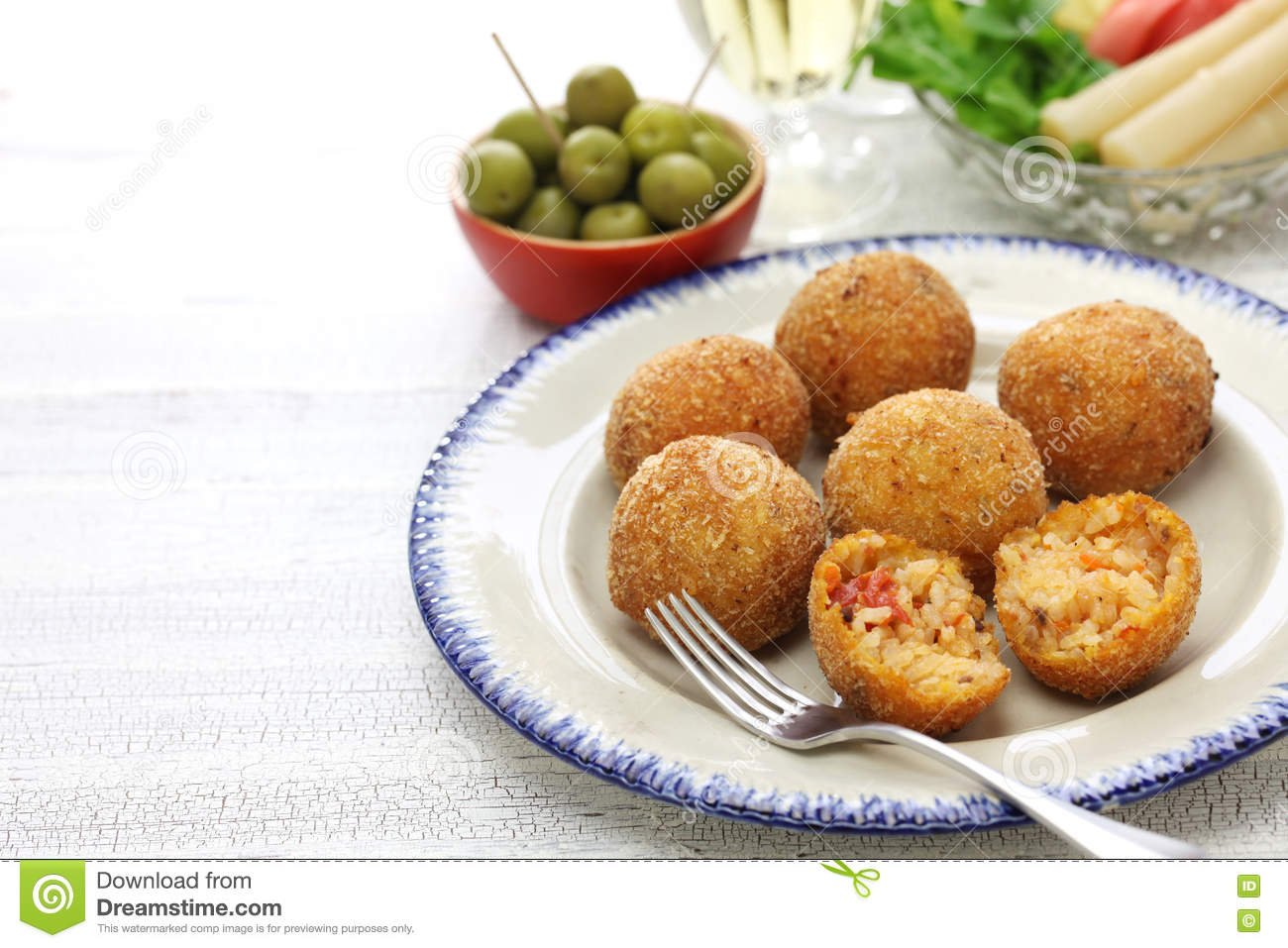 Arancini Di Riso (Rice Balls) Recipe — Dishmaps