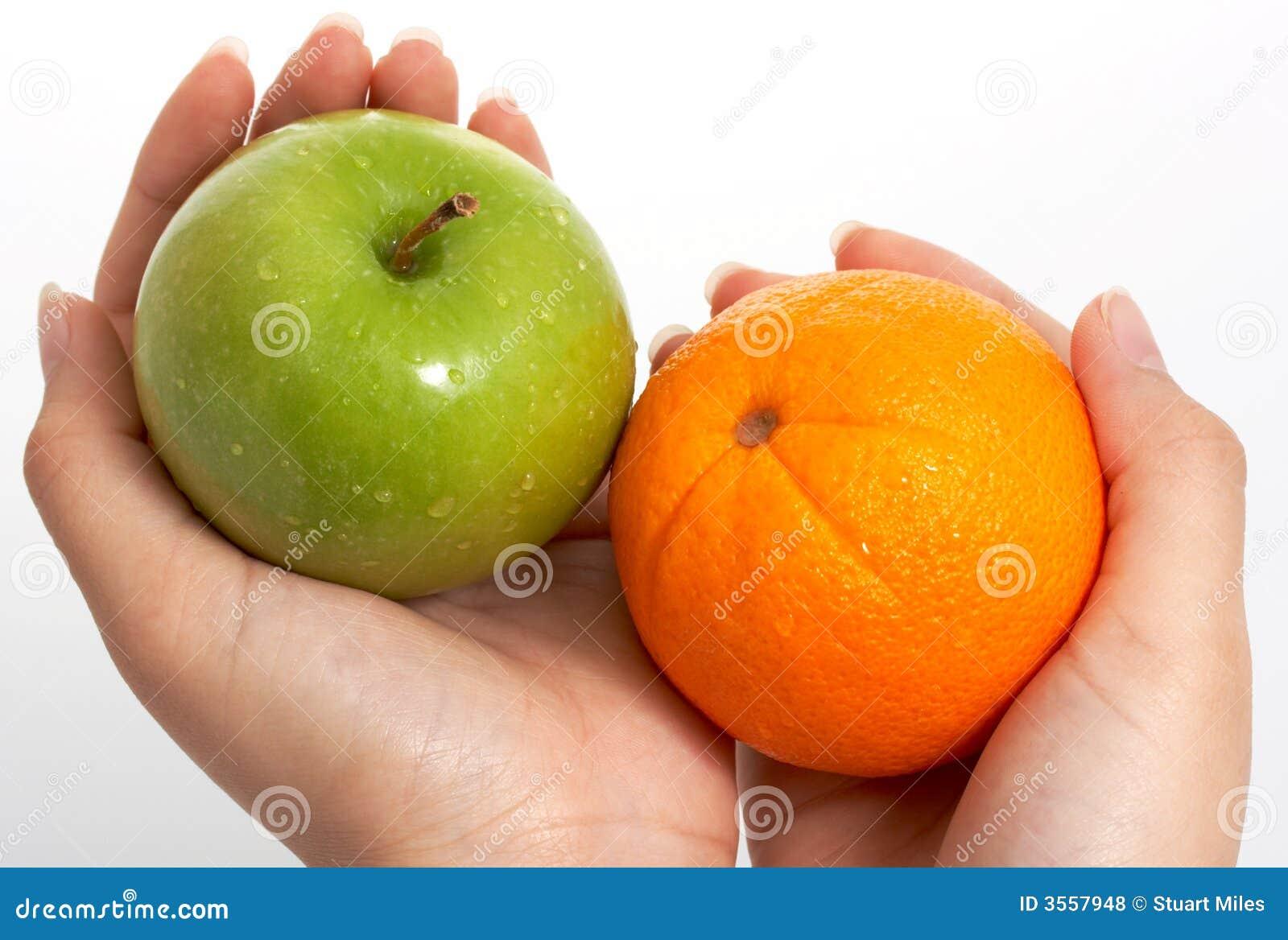 Arancio e mela