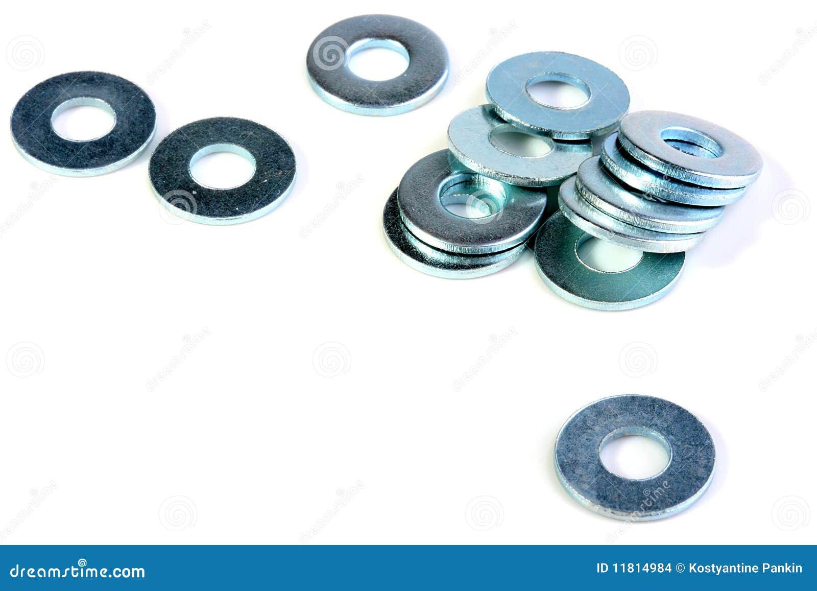 Arandelas del metal