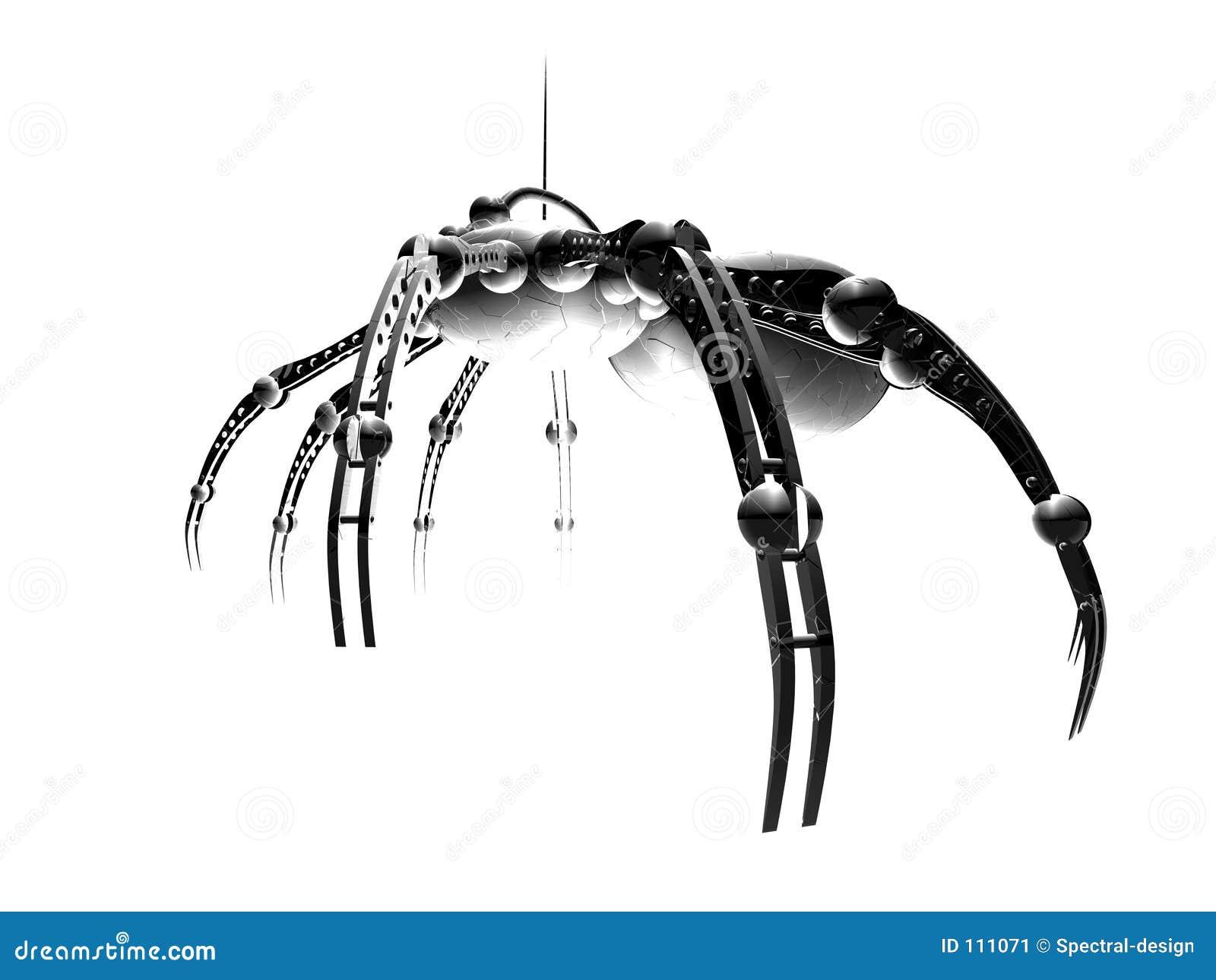 Aranha 3 do robô