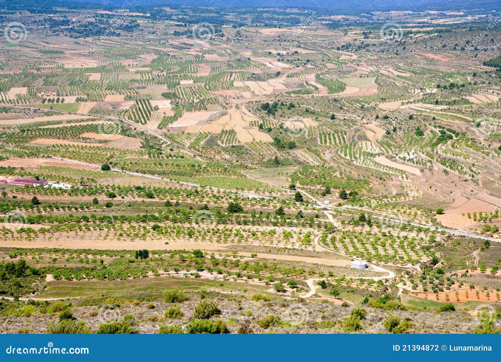 Aras De Los Olmos Valley In Valencia Spain Stock Photo Image Of