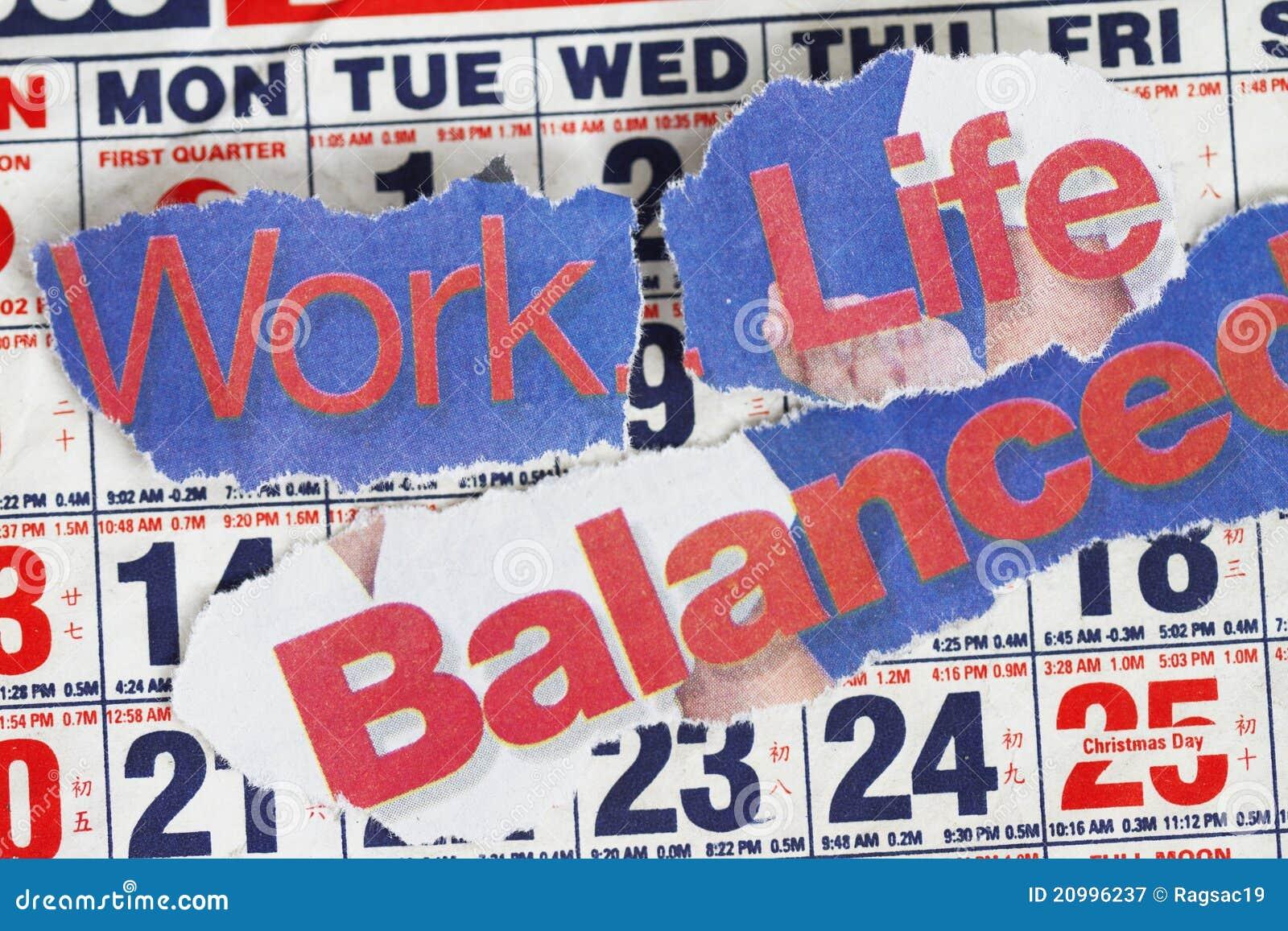 Arbeits-Leben und Schwerpunkt