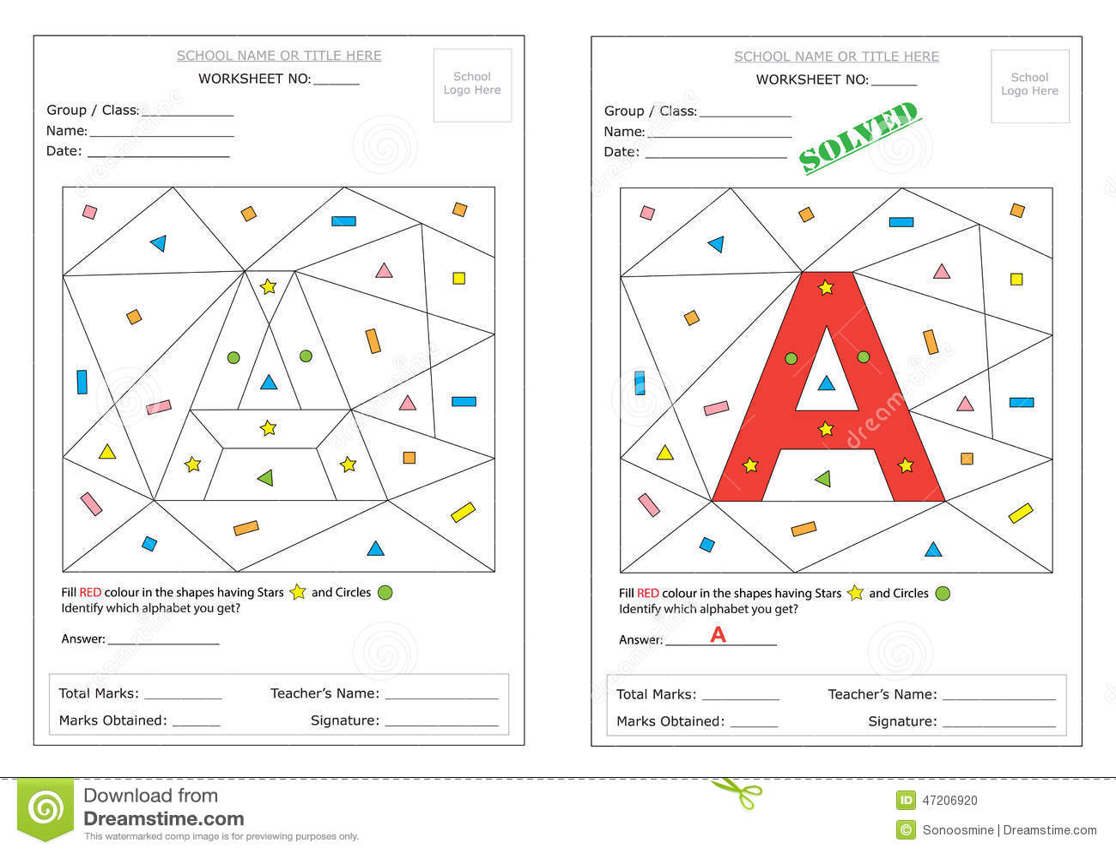 Arbeitsblatt Alphabet Italien : Arbeitsblatt identifizieren sie alphabet vektor