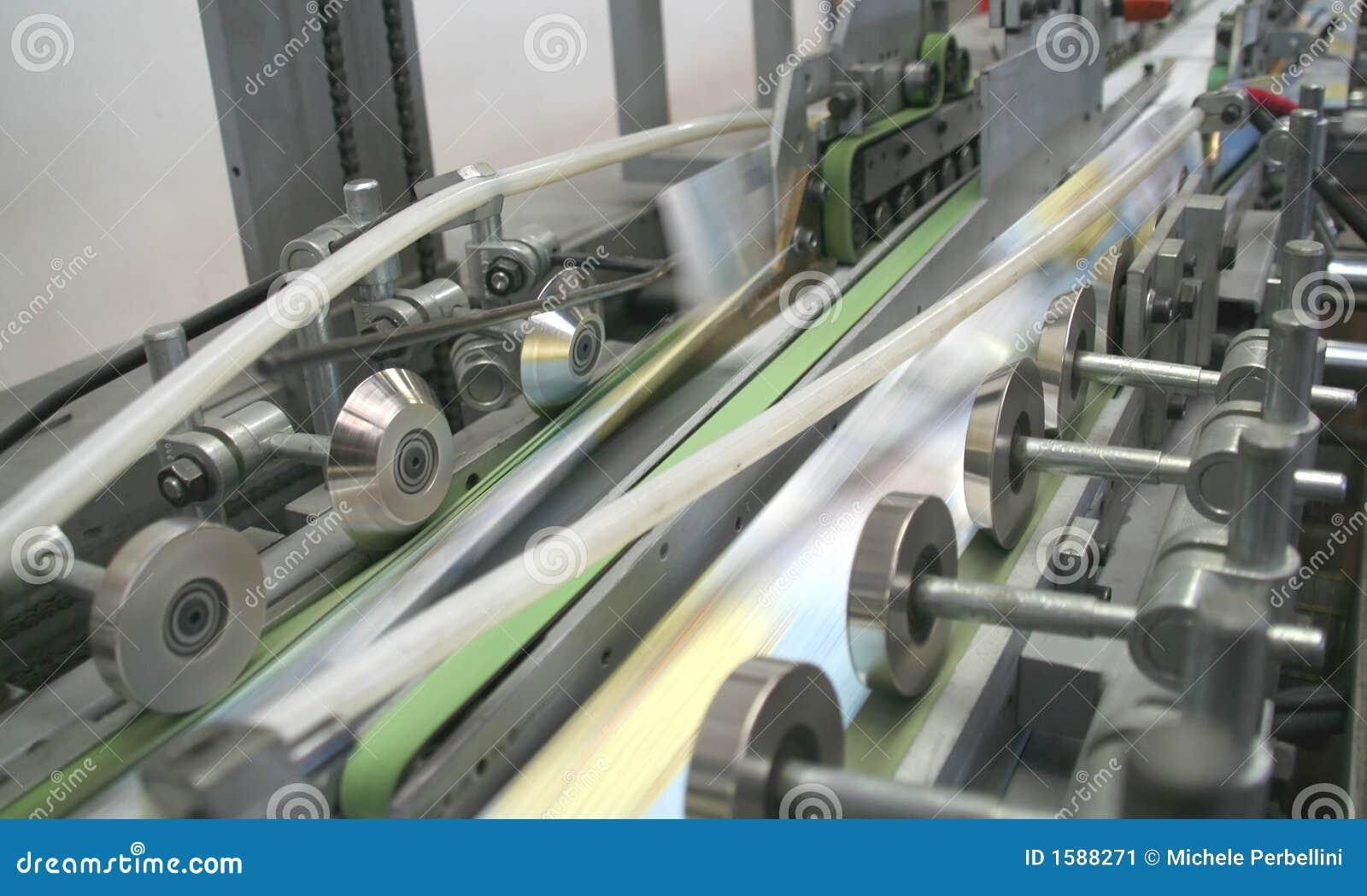 Arbeitsdruckmaschine