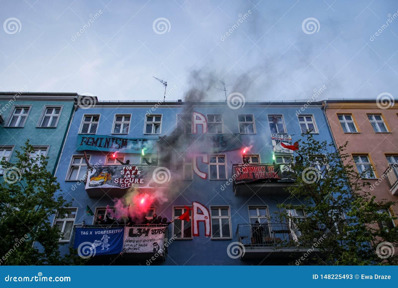 Arbeta dagen 2019 i Berlin, Tyskland