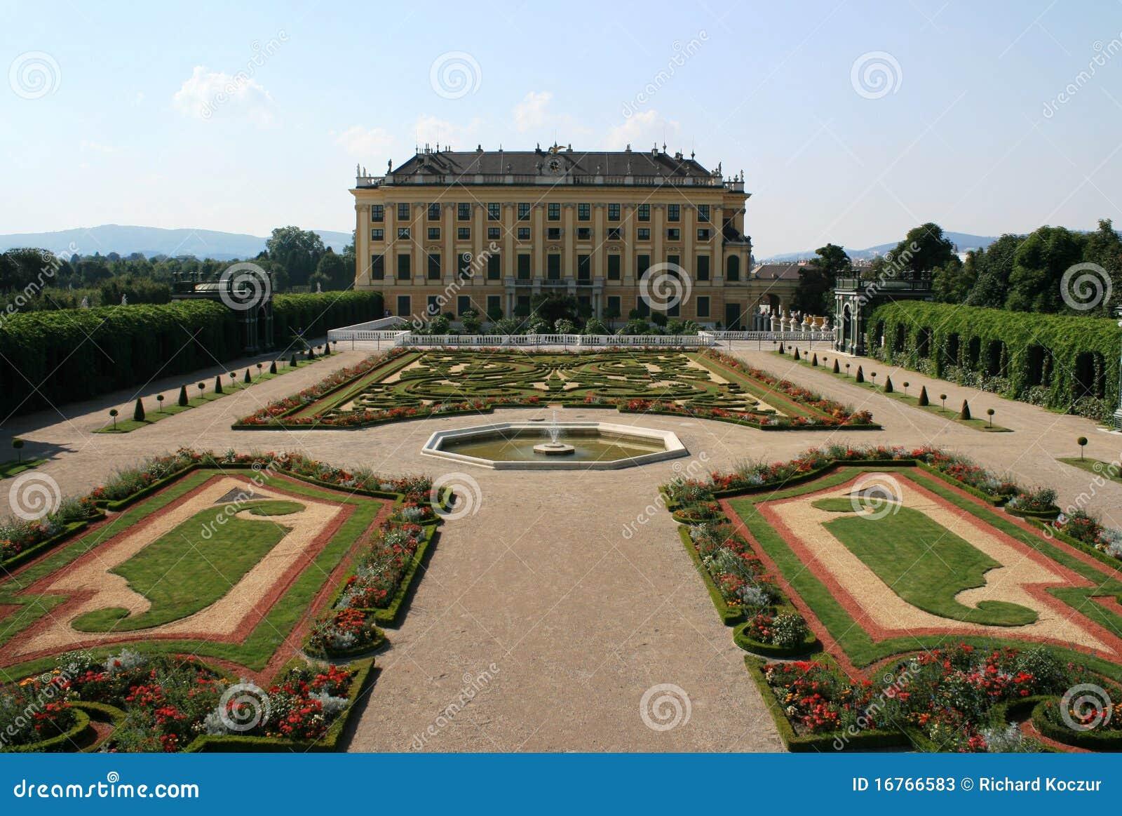 Arbeta i trädgården slottschonbrunn vienna