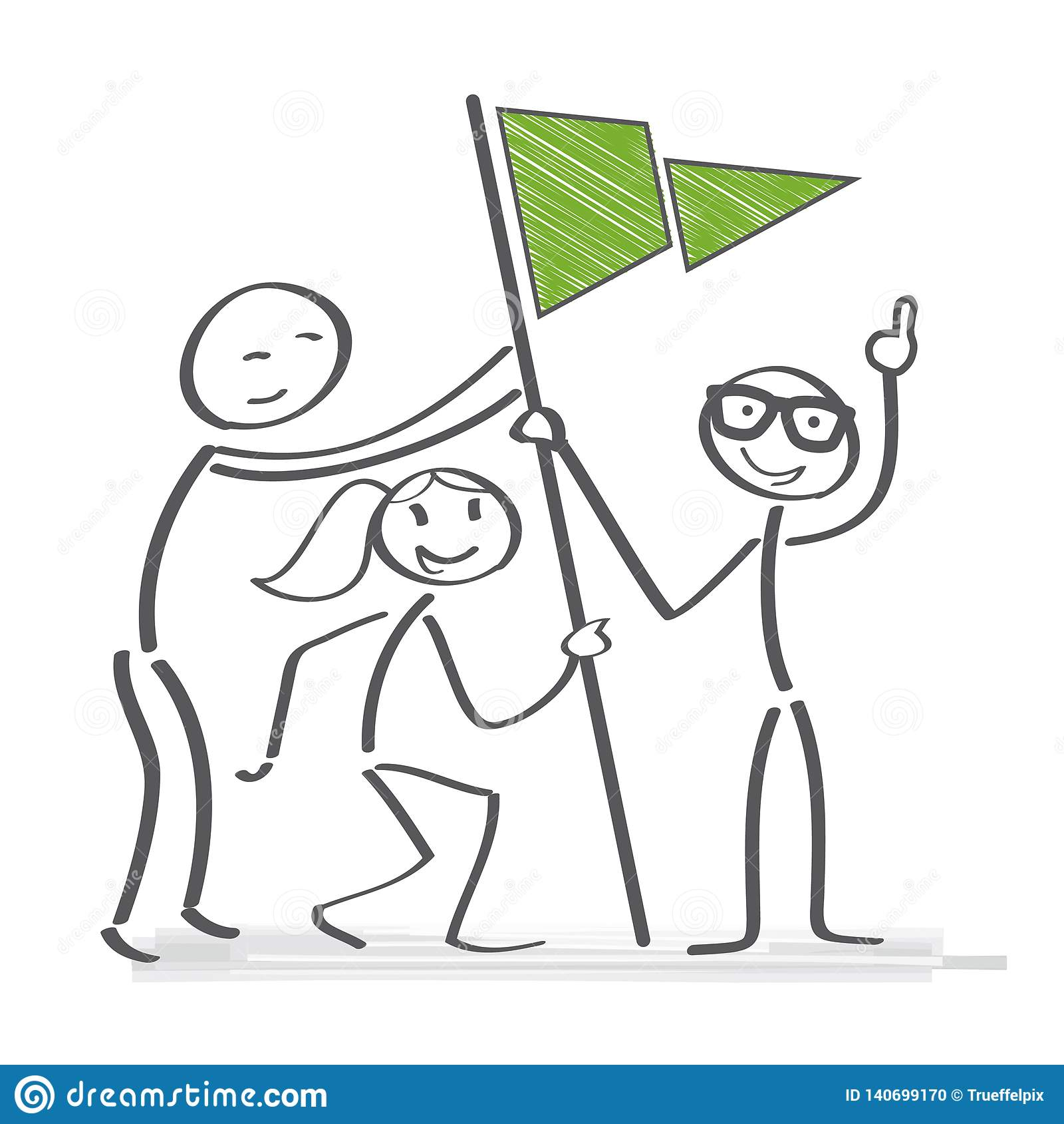 Arbeta tillsammans - laget uppnår mål