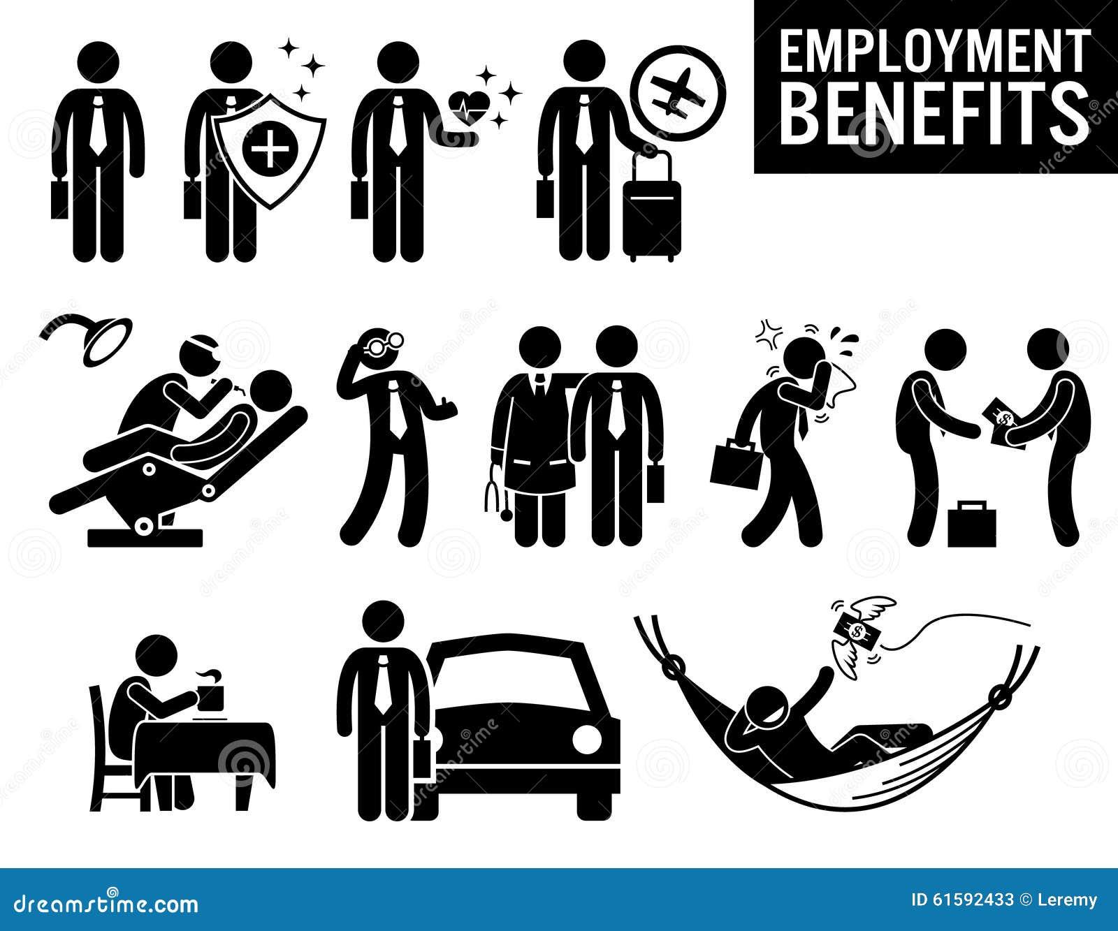 Arbetaranställning Job Benefits Clipart