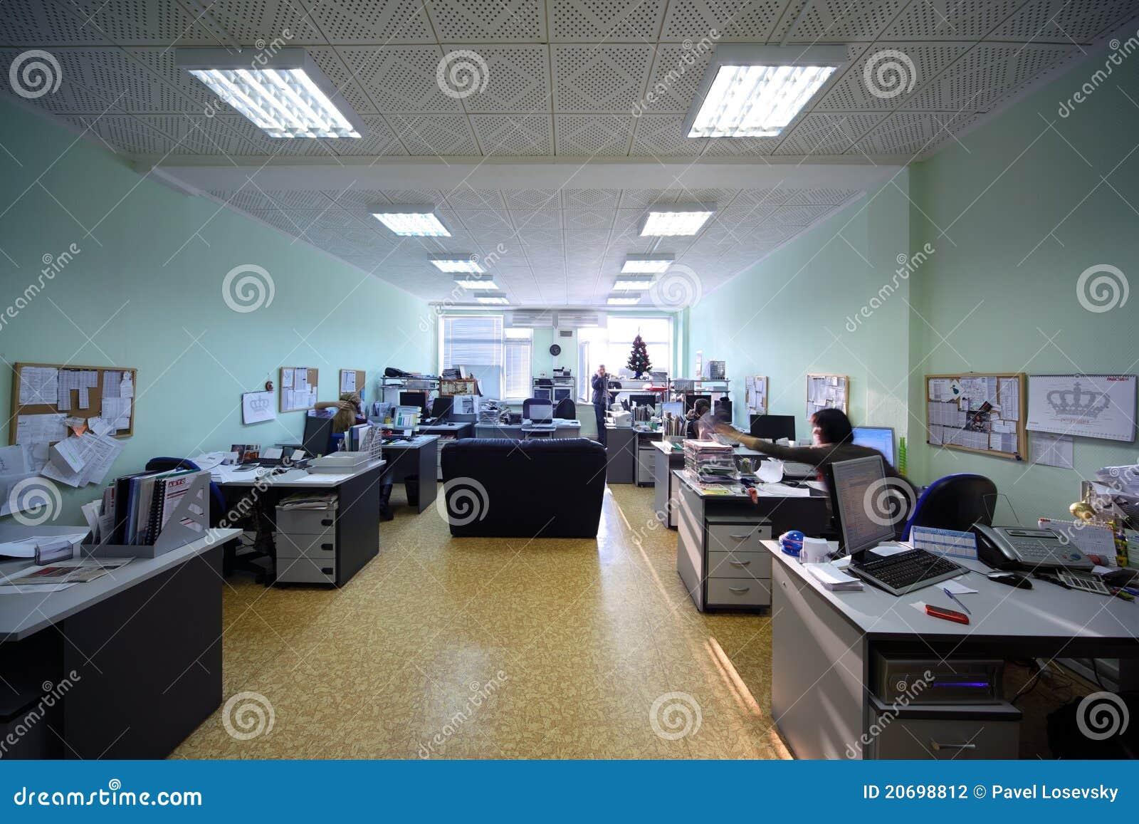 Arbete för tid för dagkontorsfolk