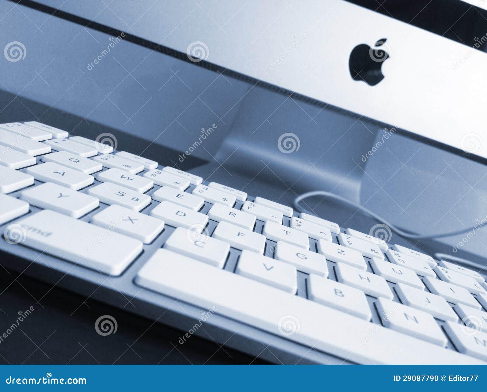Arbete förlägger. Ny Apple-dator
