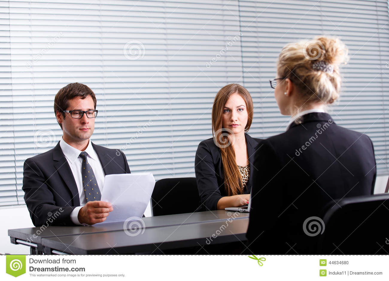 Arbetsintervju