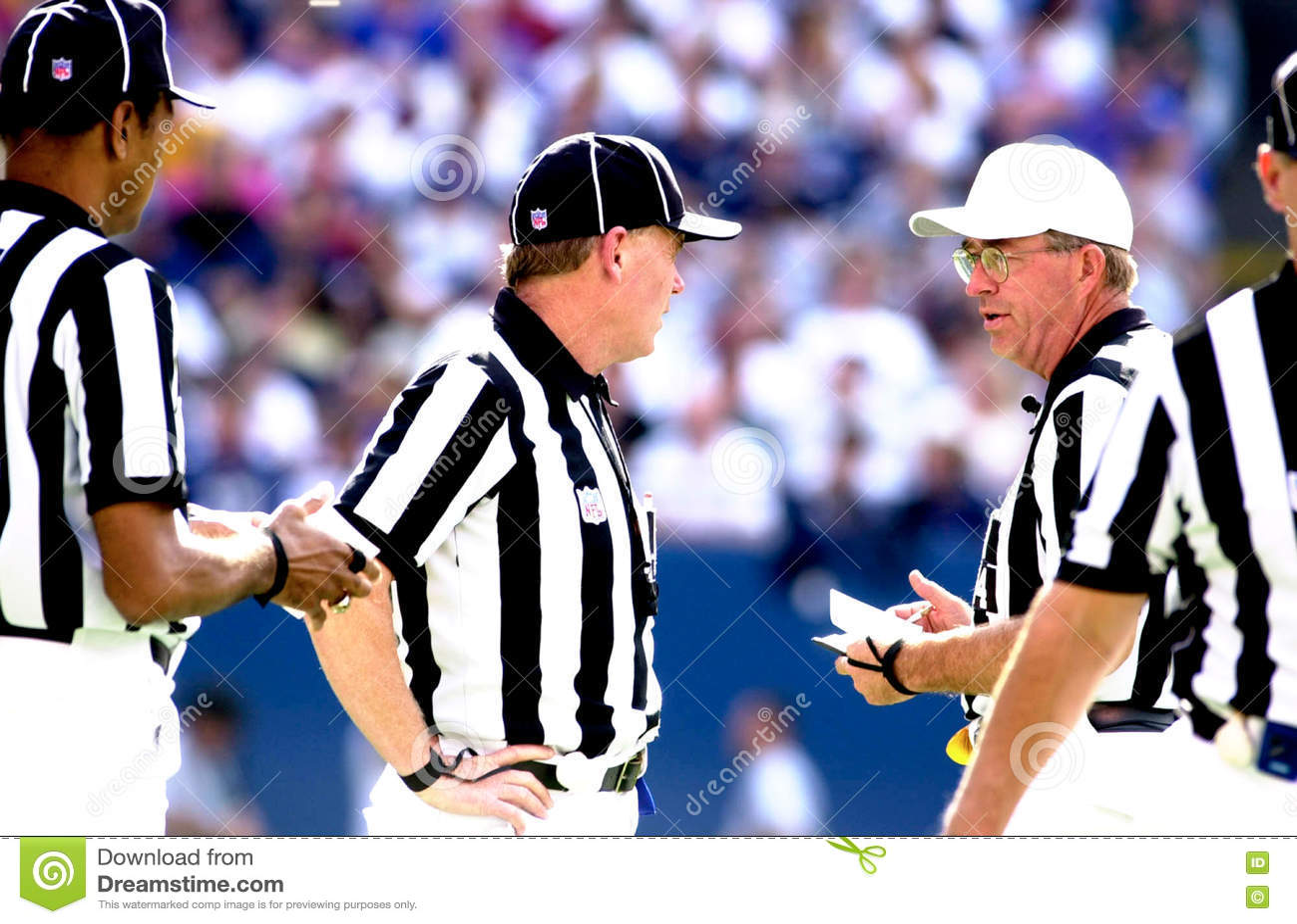 Arbitri del NFL