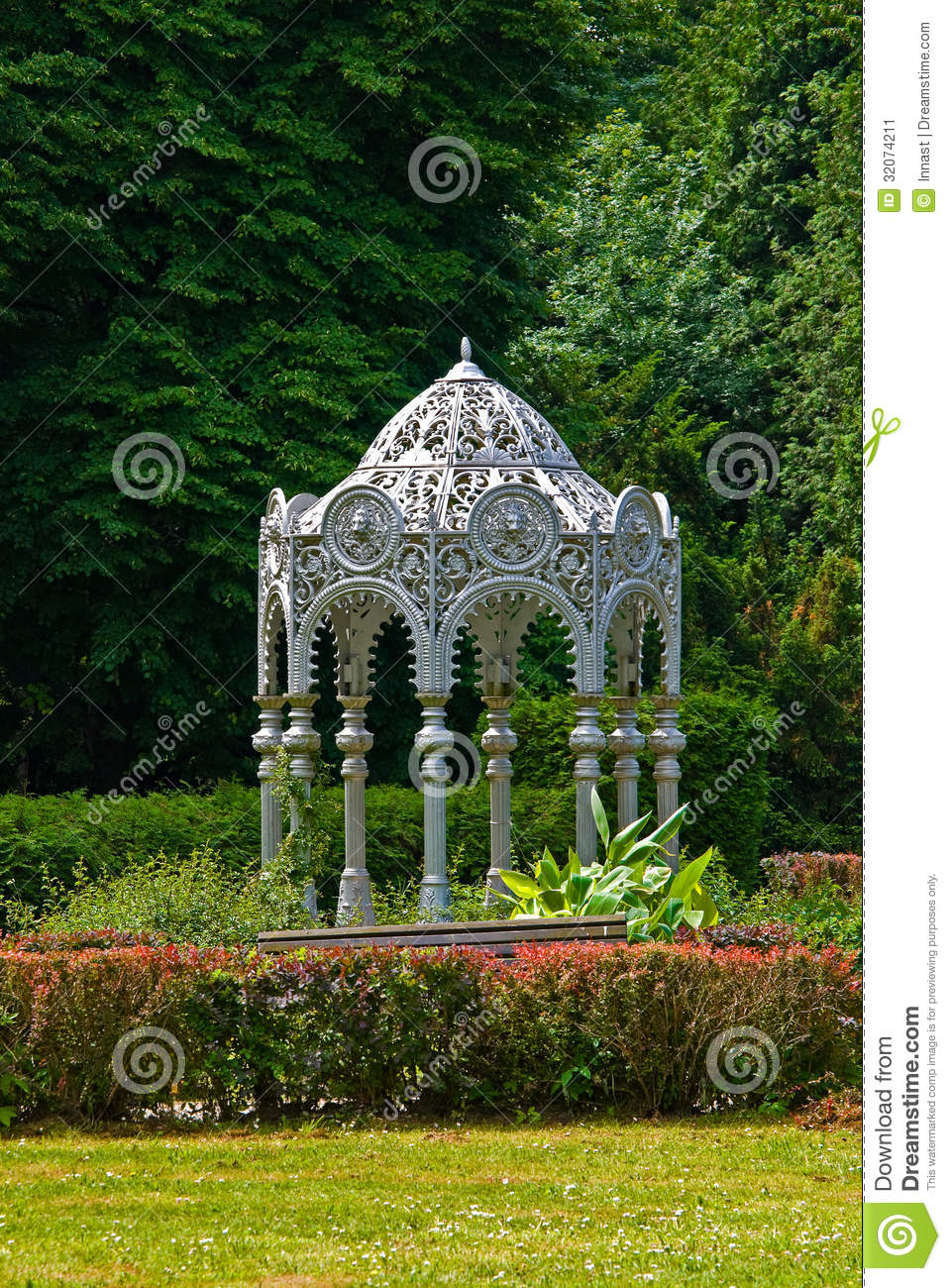 Arbor stock image  Image of exterior, park, travel, outdoors - 32074211
