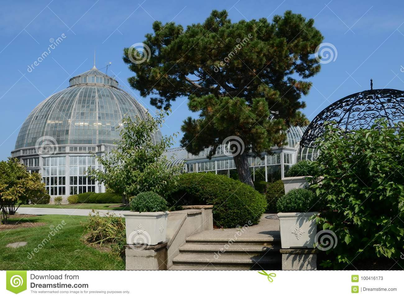 Conservatory in Detroit on Belle Isle