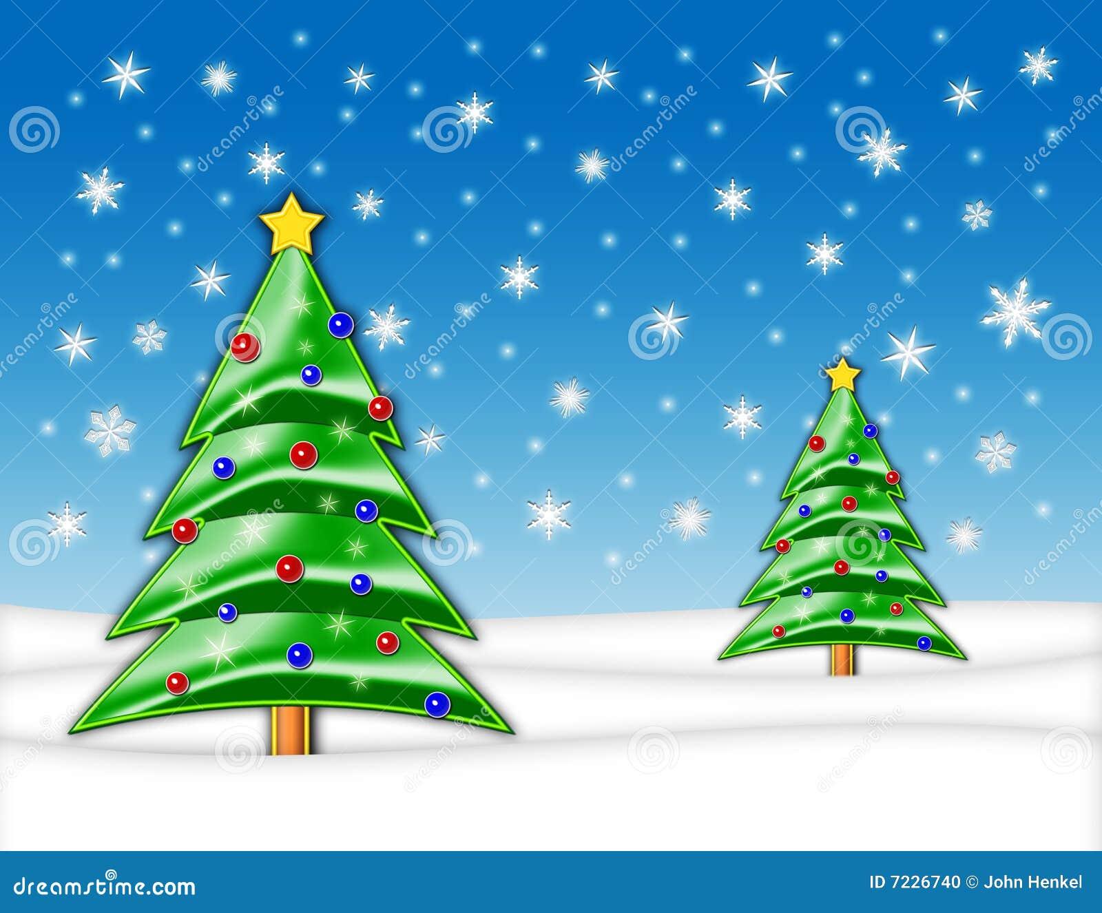 Arbre d illustration de Noël