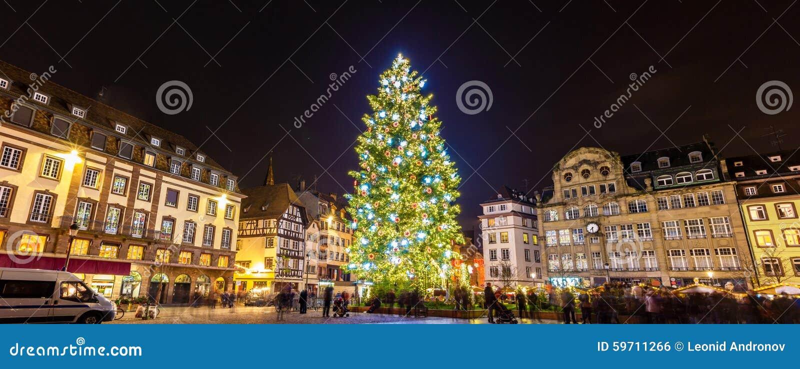 Arbre de Noël à Strasbourg, 2014 - Alsace, France