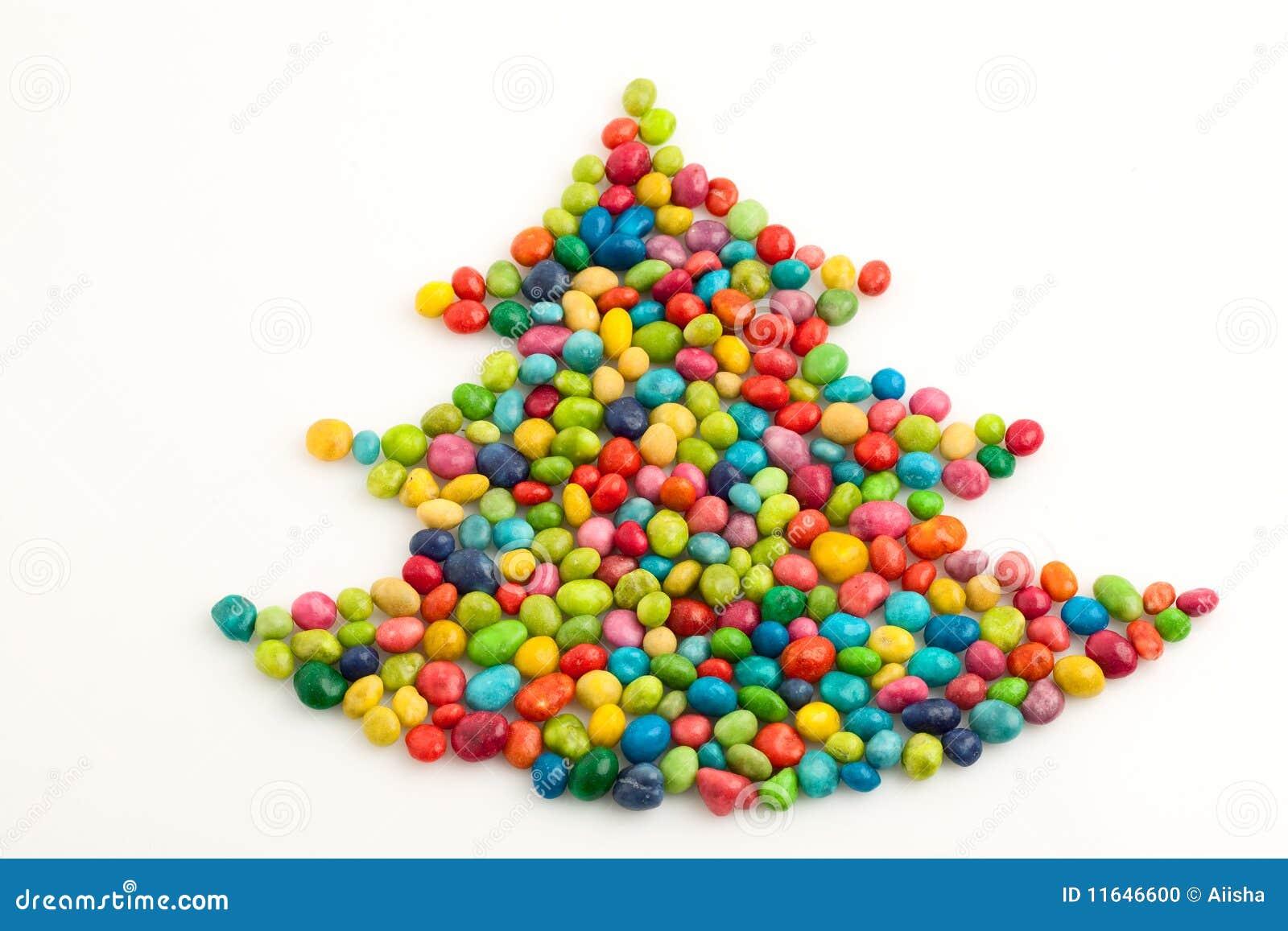 Arbre de Noël beaucoup-coloré