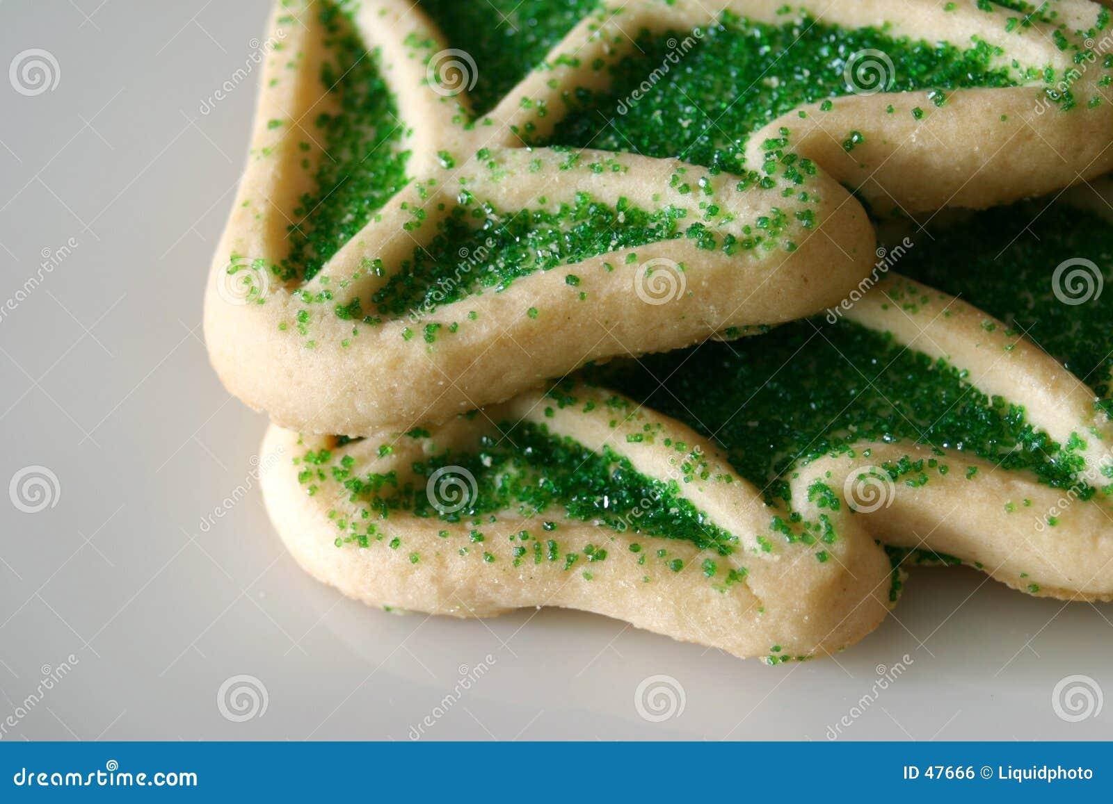 Arbre de Noël de biscuits de sucre