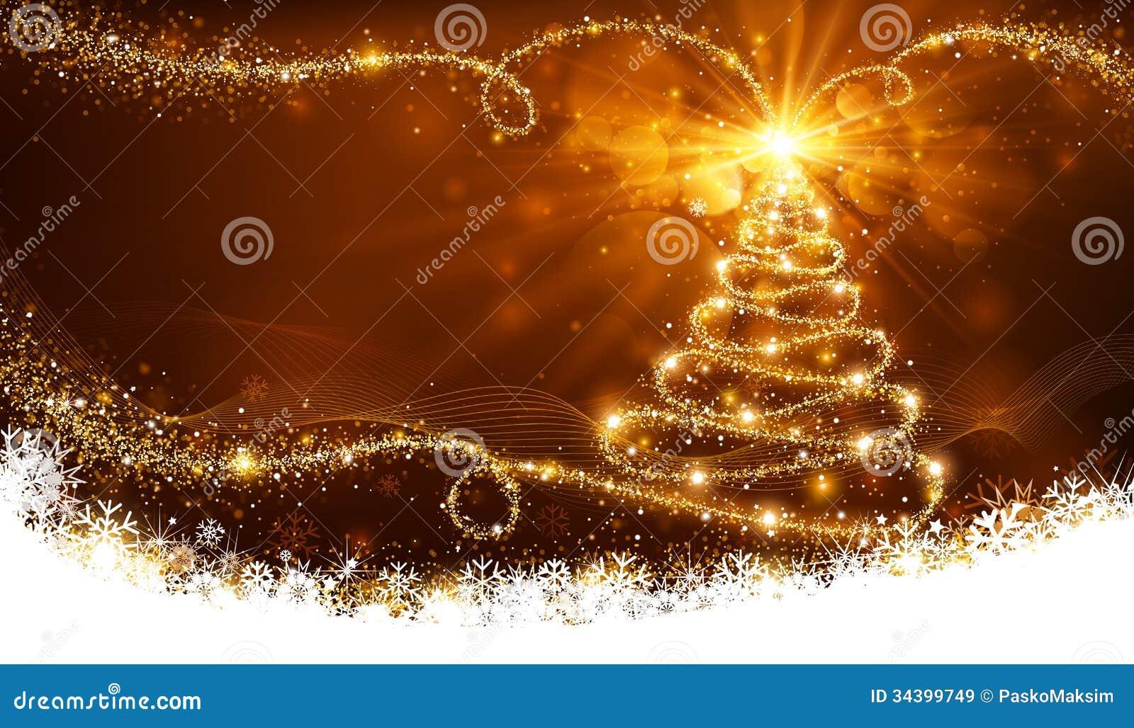 Arbre de Noël magique