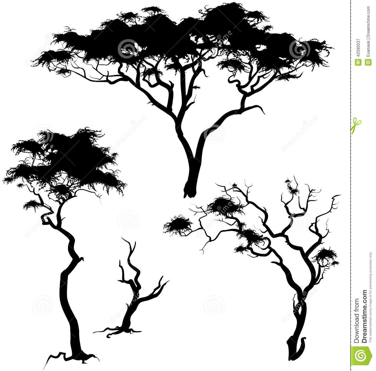 african trees coloring pages - photo#28