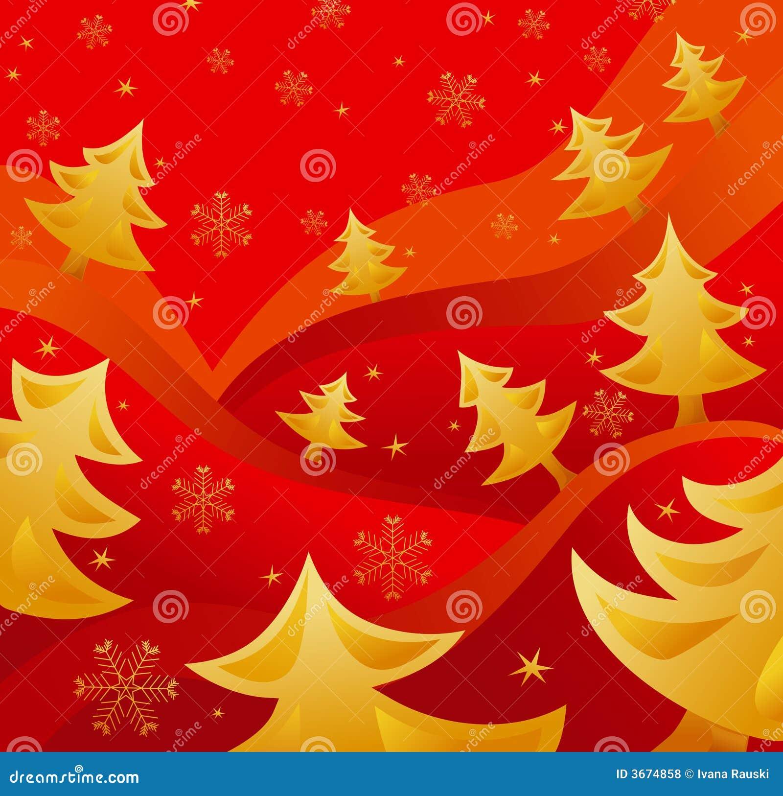 Arbres de Noël d or