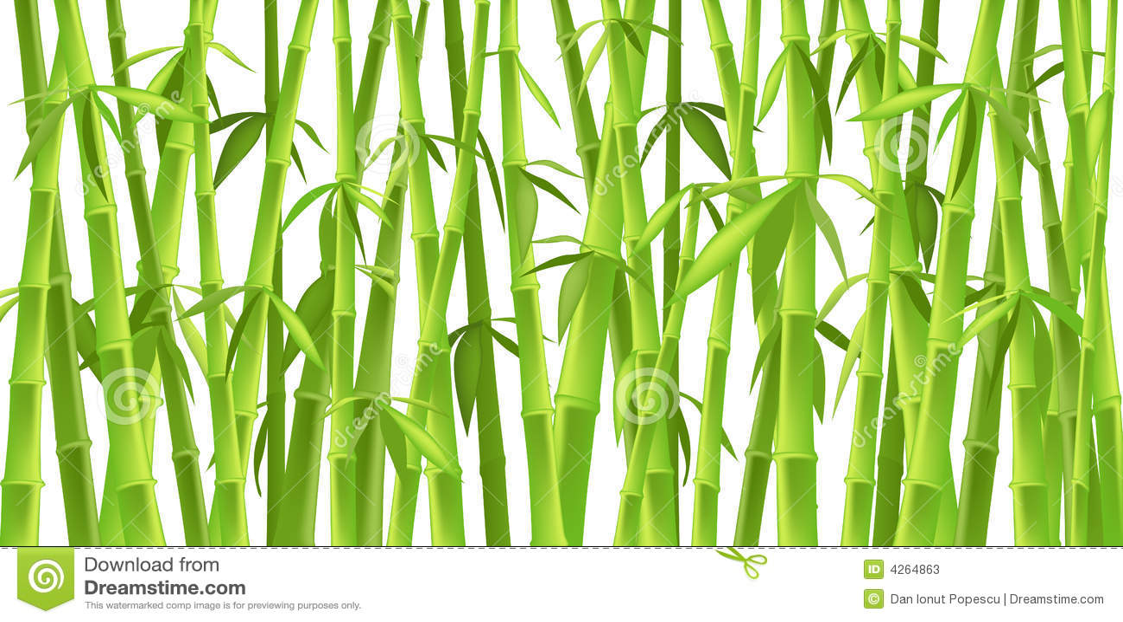 arbres en bambou chinois illustration de vecteur image du d coration 4264863. Black Bedroom Furniture Sets. Home Design Ideas