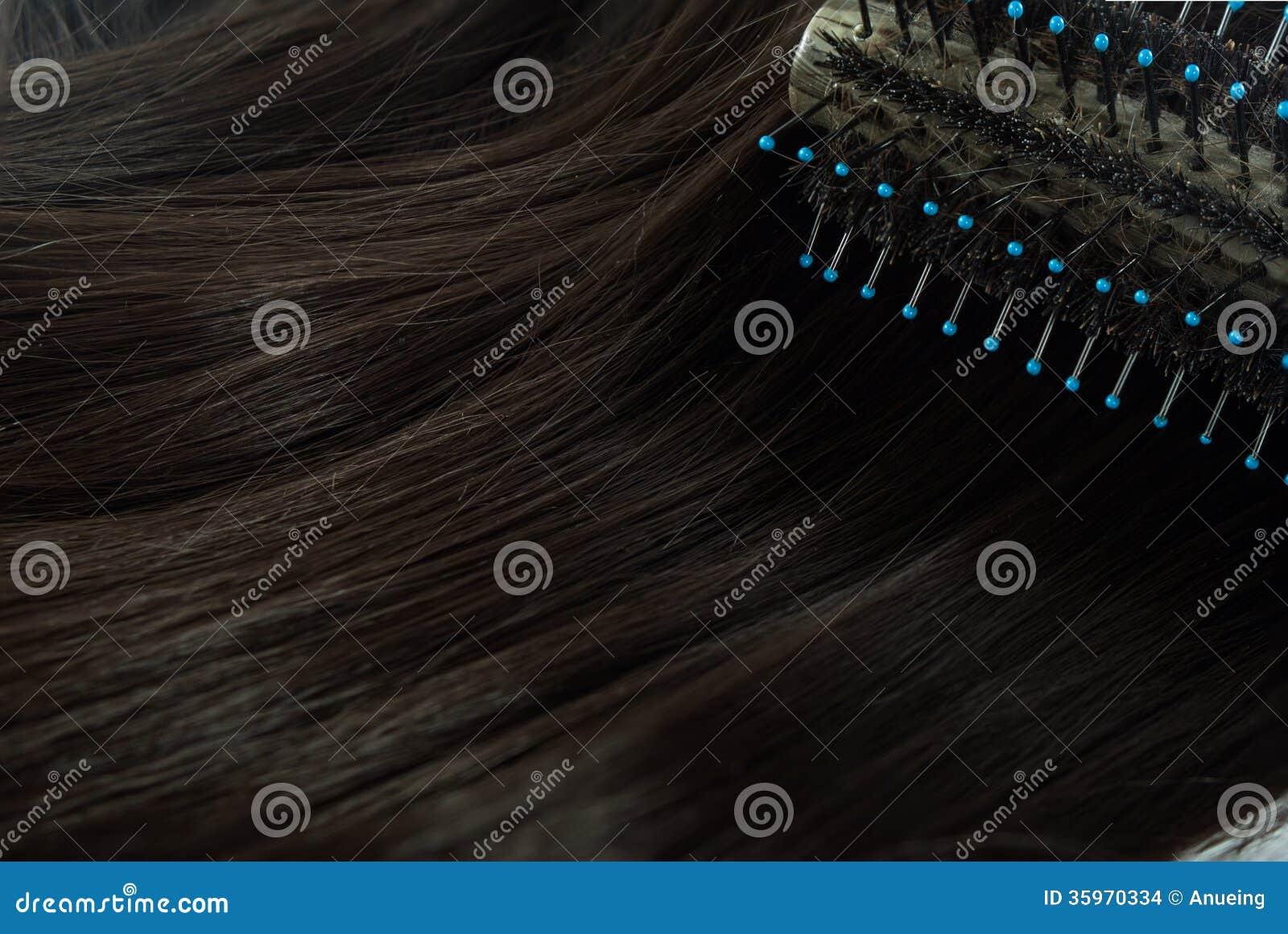 Arbusto y pelo redondos