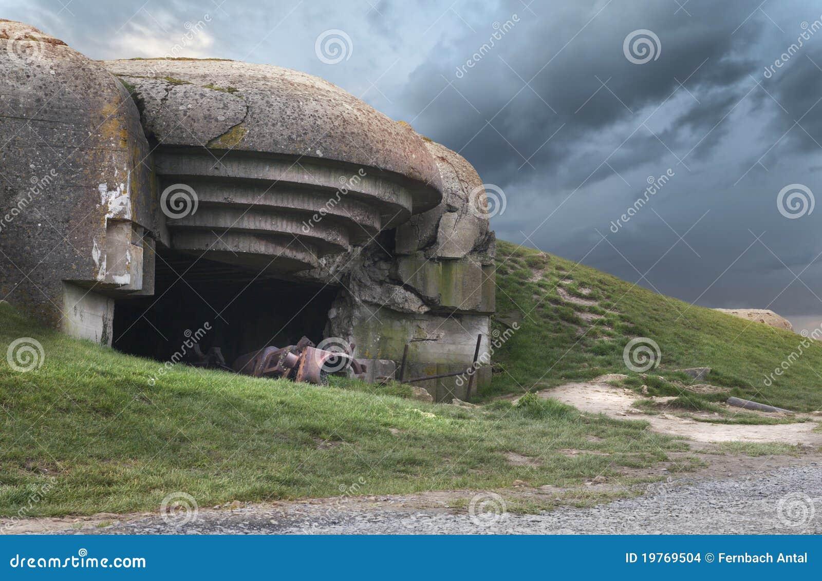 Arcón alemana en Normandía