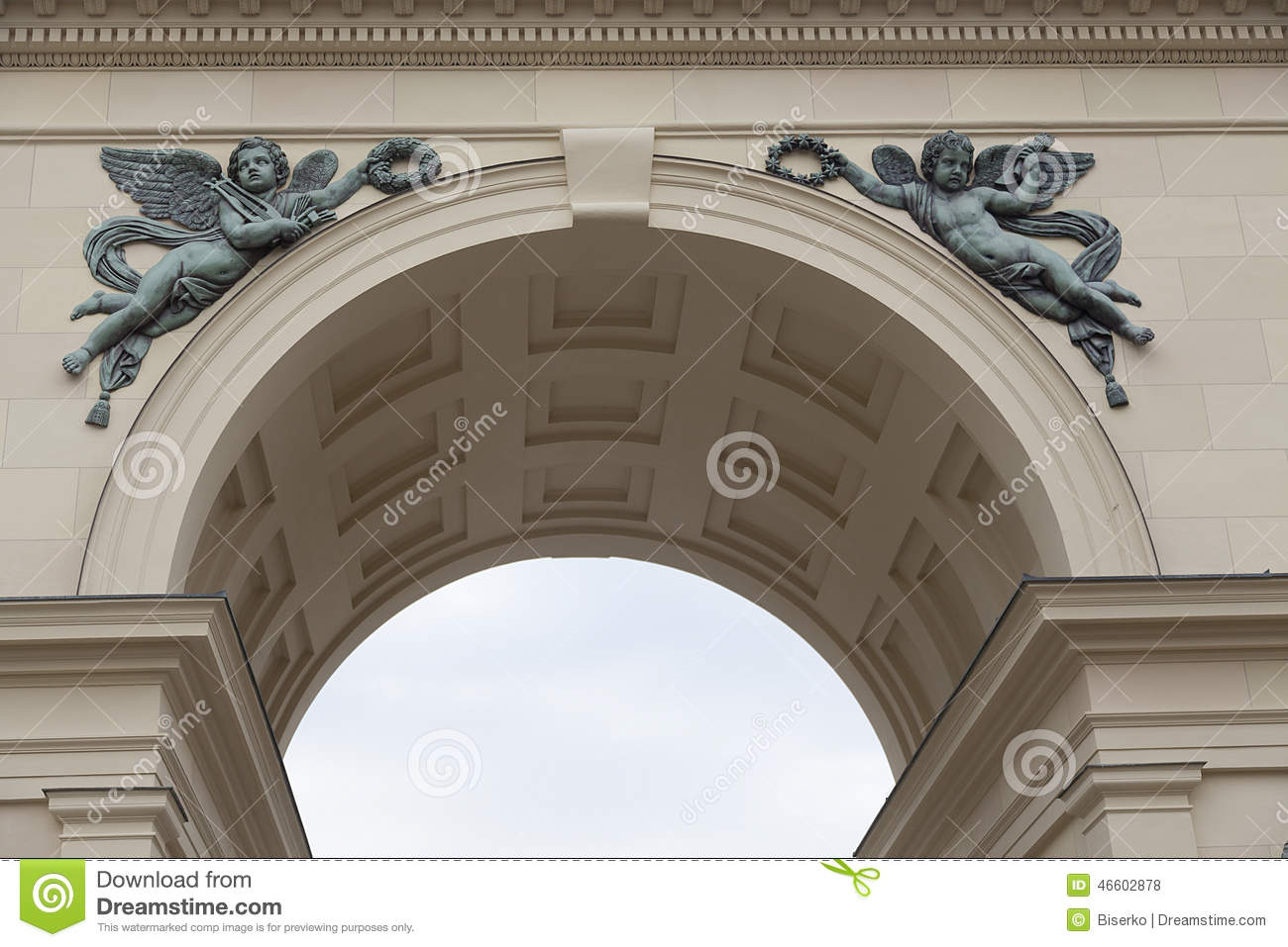 arc decoration stock photo image of triumph academy