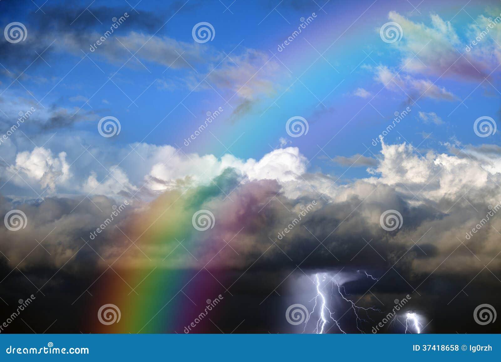 Arc-en-ciel en ciel