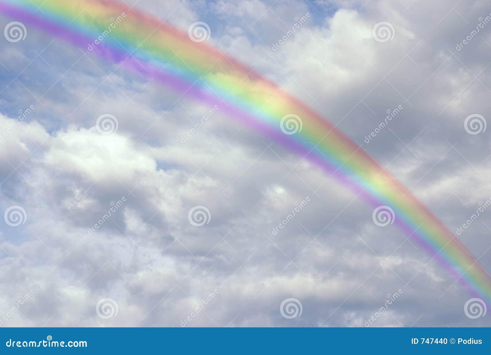 Arc en ciel lumineux photo stock image 747440 - Bracelet arc en ciel ...