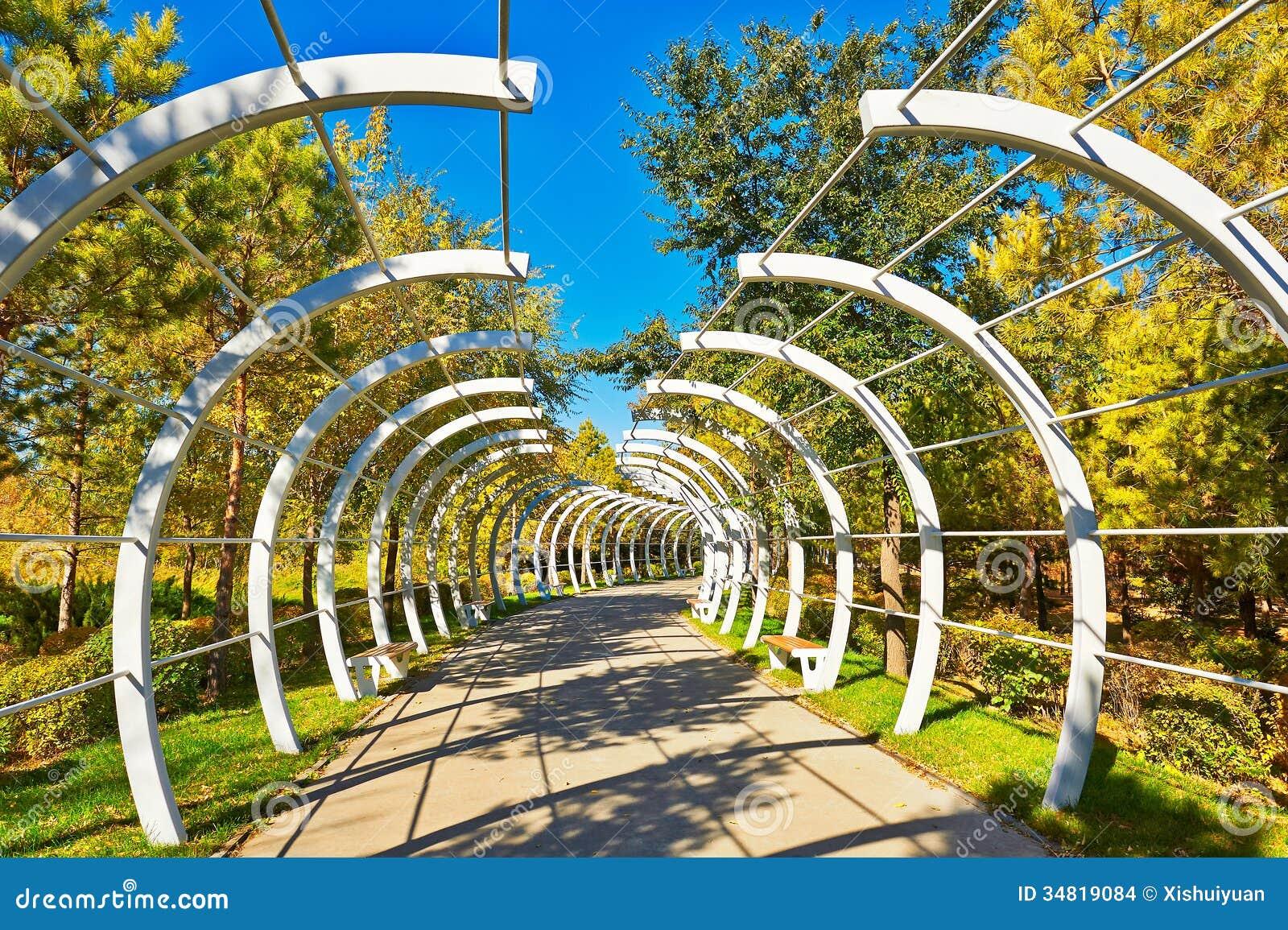 Arc Plank Road Landscape Stock Photo Image Of Love