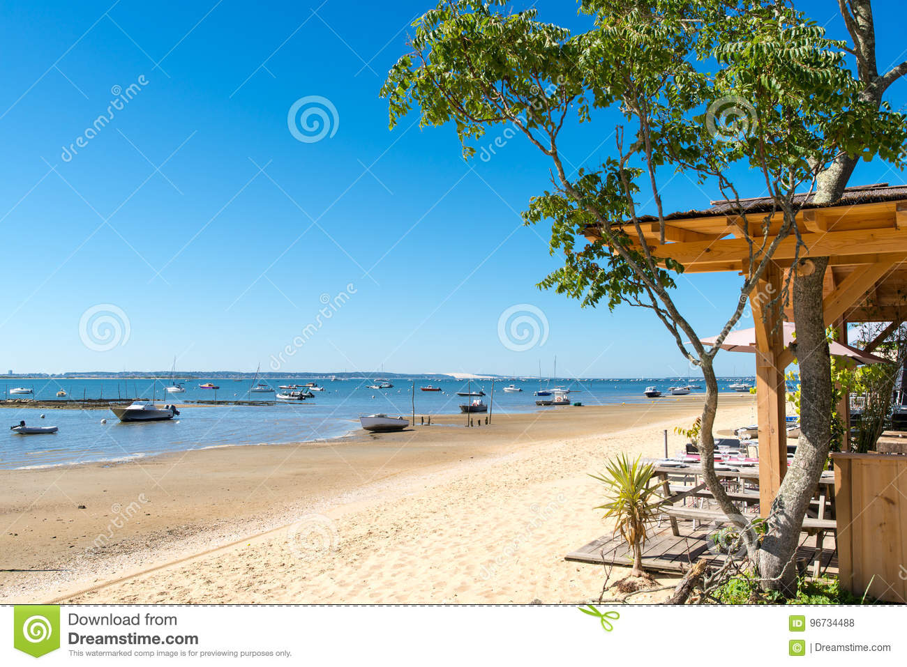 Arcachon Bay France Dune Of Pyla Stock Photo Image Of Pilat