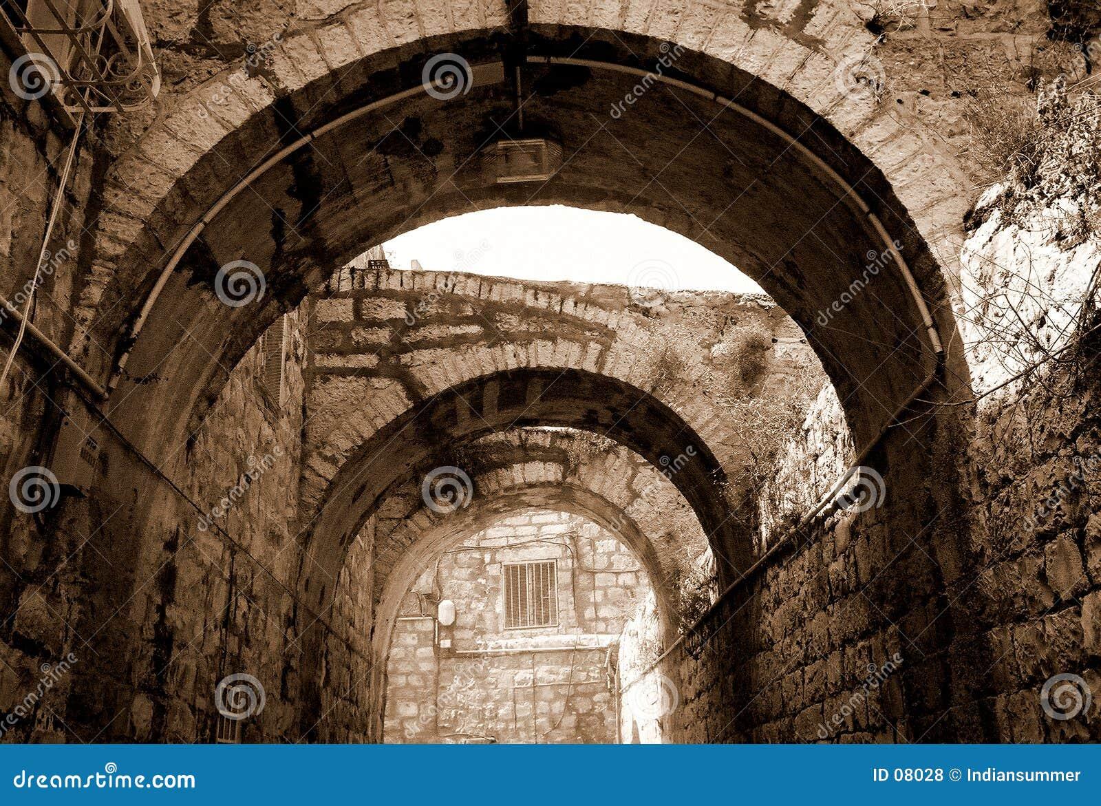 Arcada em Jerusalem