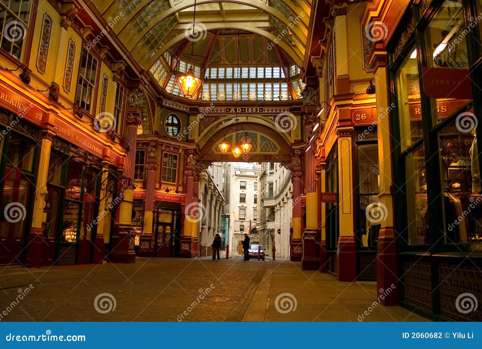 Arcade de jardins de couteliers de Londres