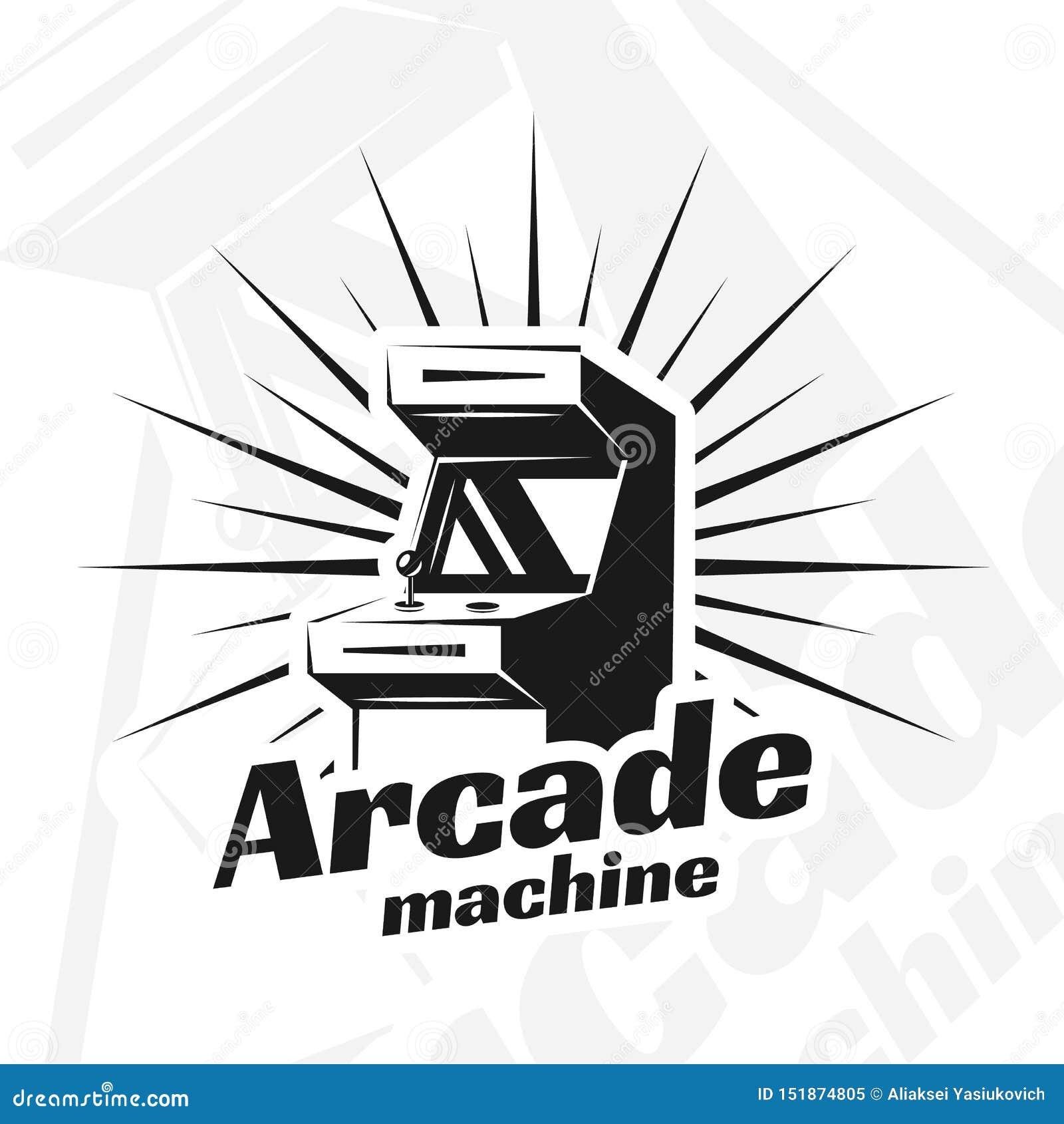 Arcade Machine Vector Stock Vector Illustration Of Electronic 151874805