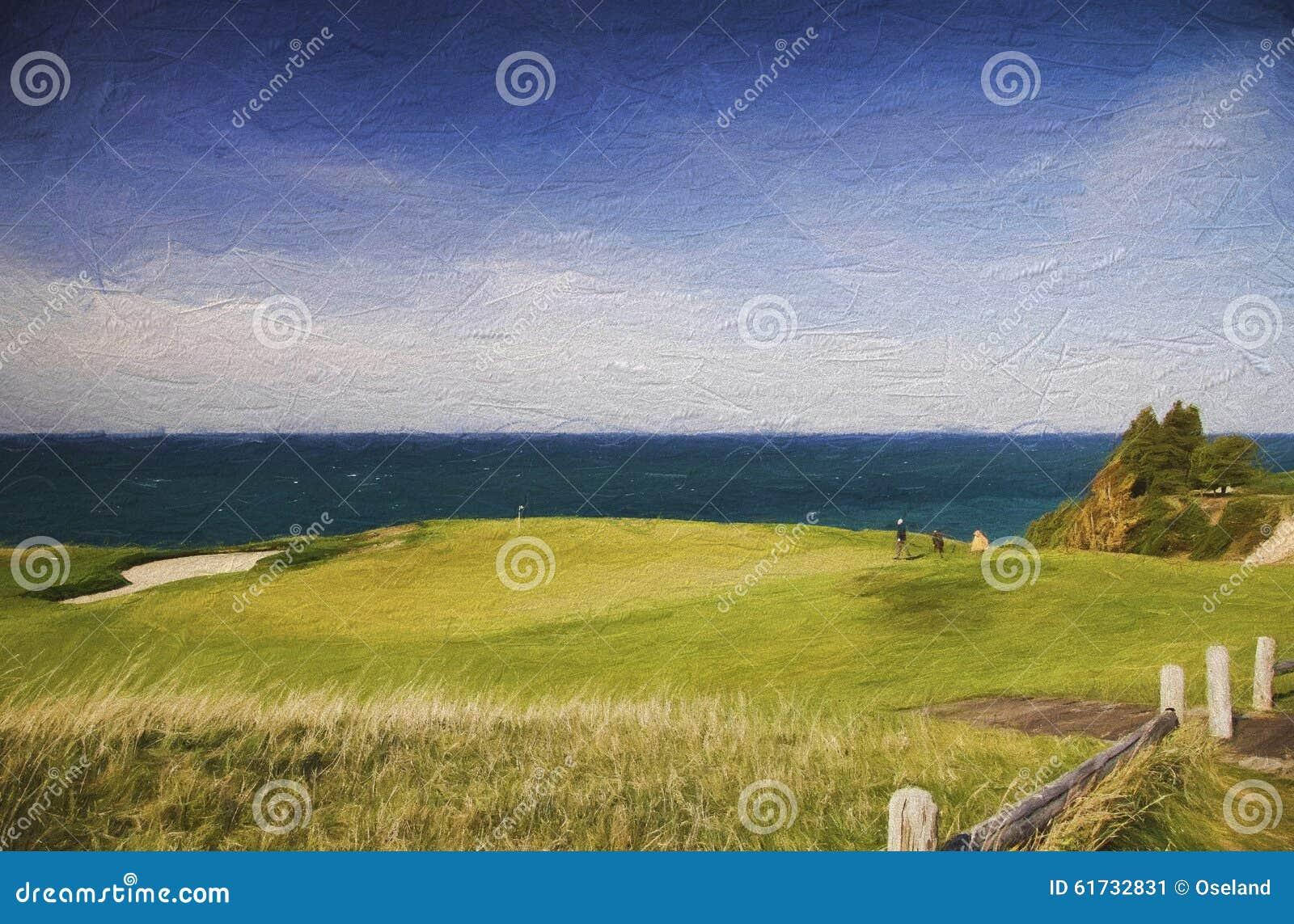 Arcadia bluffar golfklubben