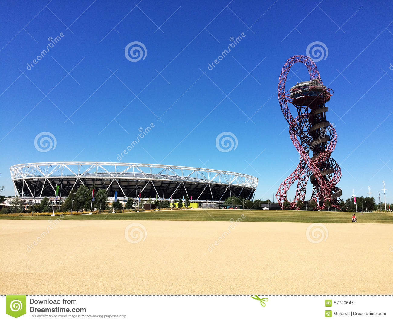 Arcelormittal observation tower london olympic stadium editorial arcelormittal observation tower london olympic stadium editorial stock photo buycottarizona