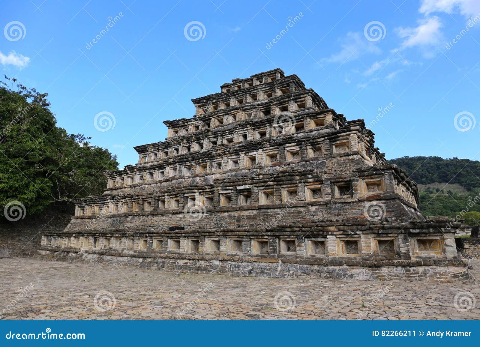 Archäologische Fundstätte von EL Tajin, Veracruz, Mexiko